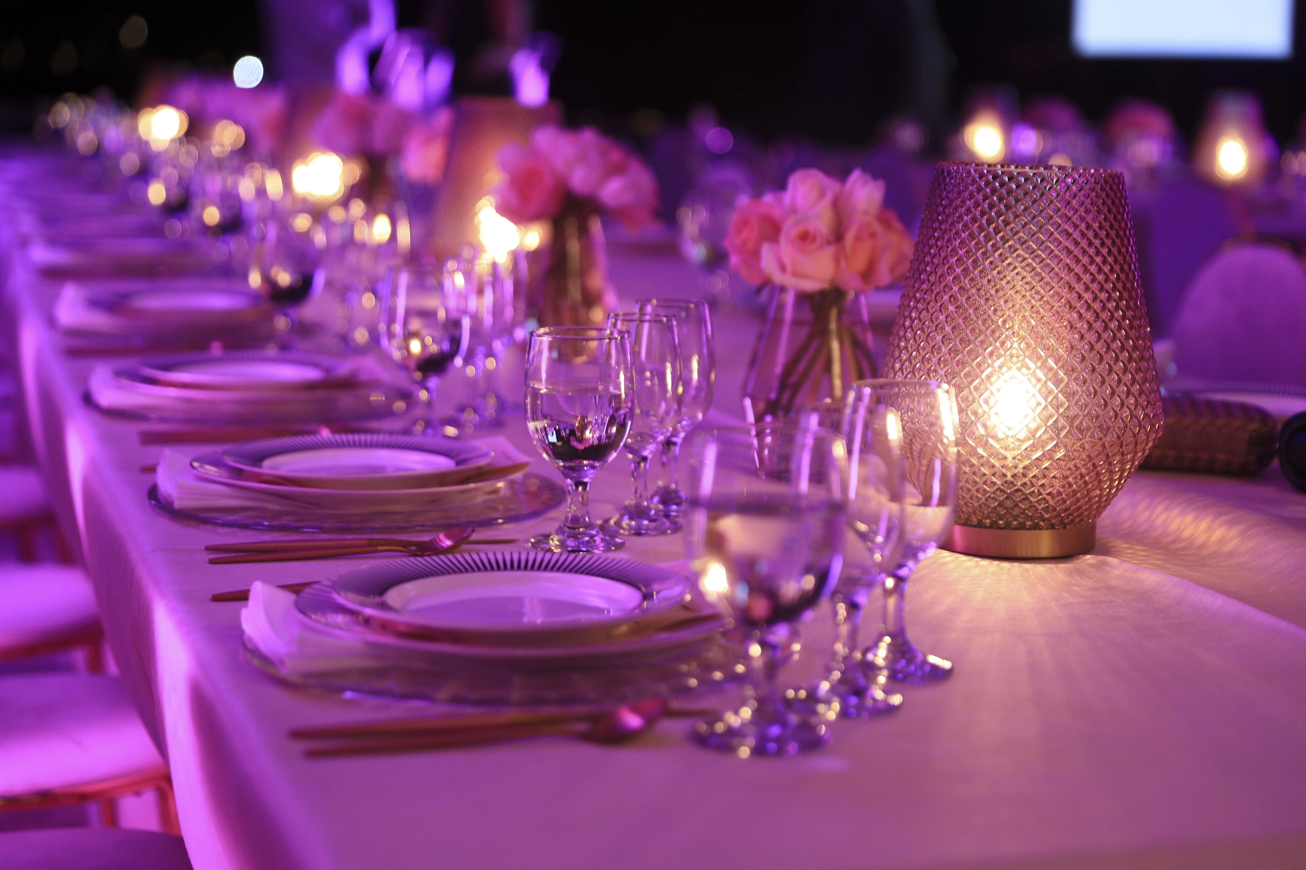 Detalle de la ambientación de la cena. (Wanda Liz Vega)