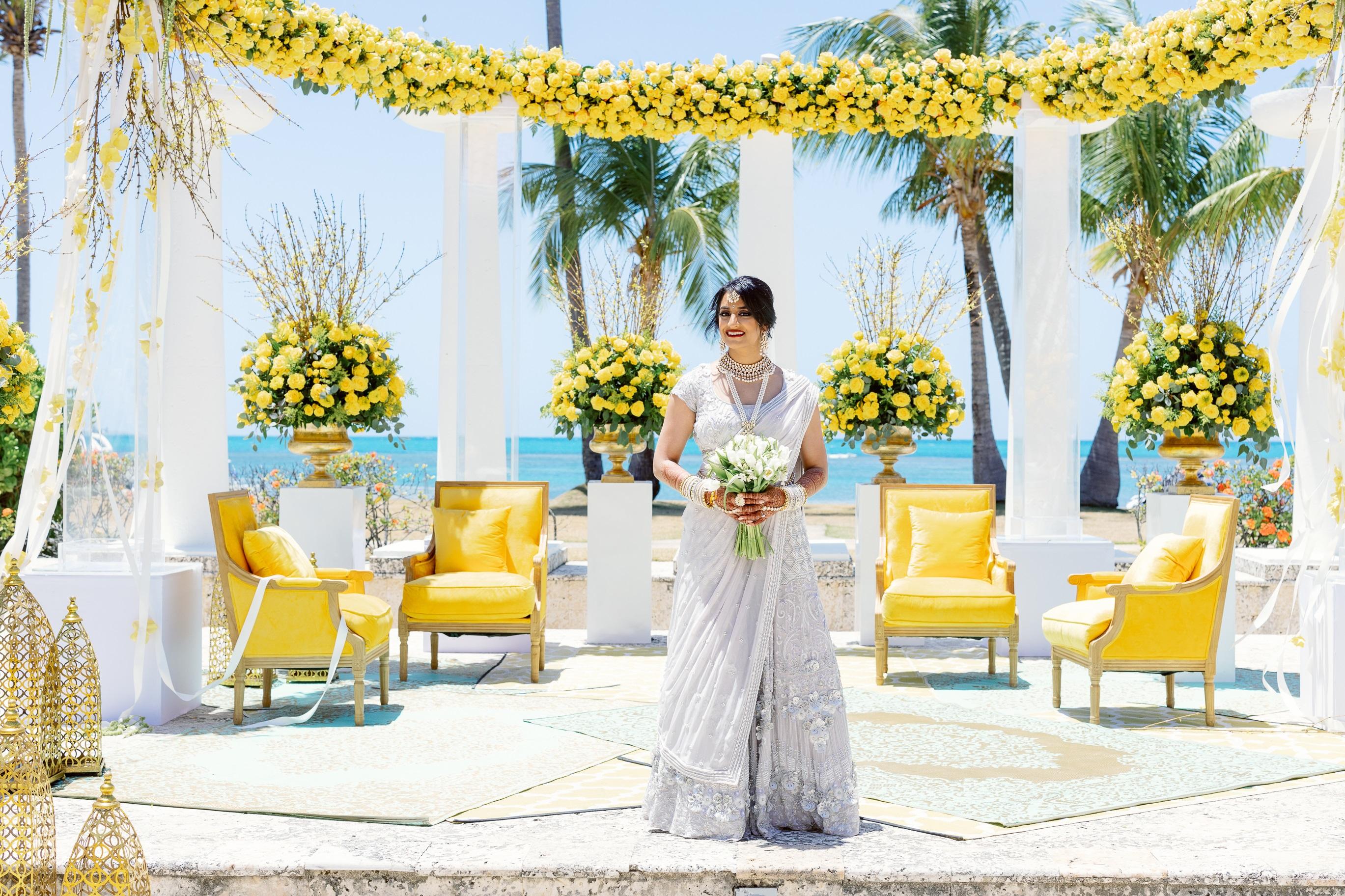 Atuendo de la novia: Sushma Patel (Suministrada)