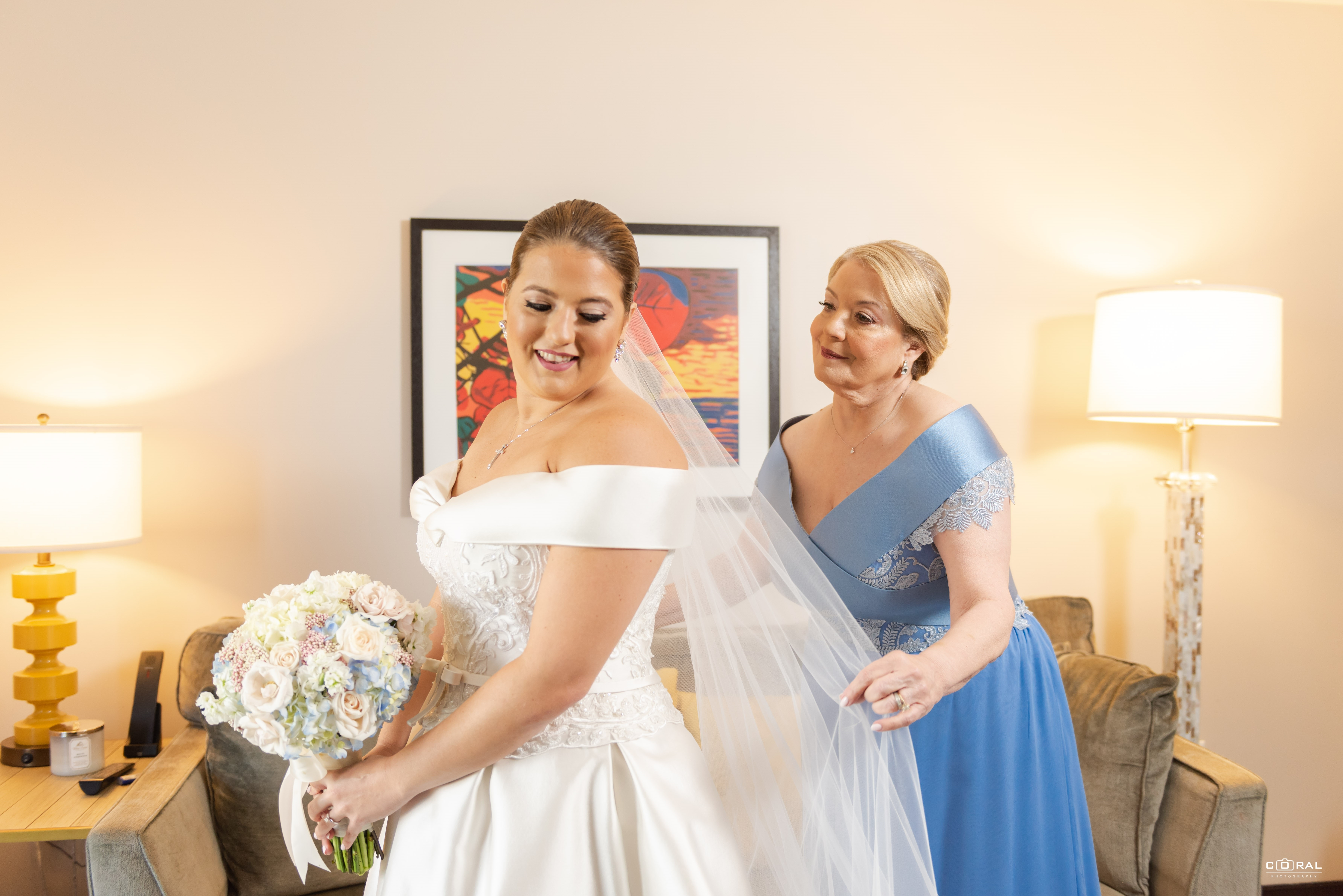 Atuendo de la novia: Harry Robles (Suministrada)