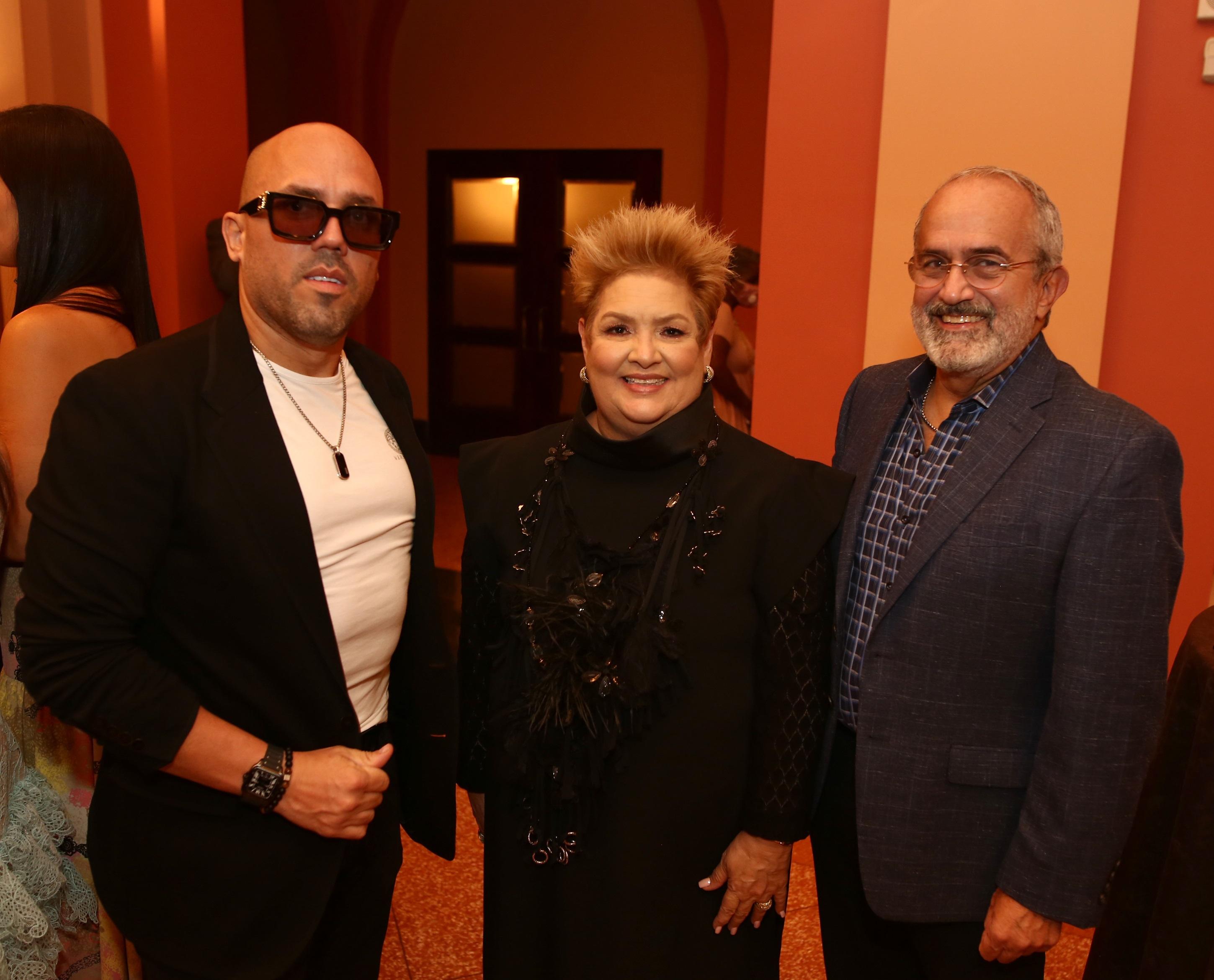 Walter Otero, Sylvia Villafañe y Rafael Irrizary (Foto: José Rafael Pérez Centeno)
