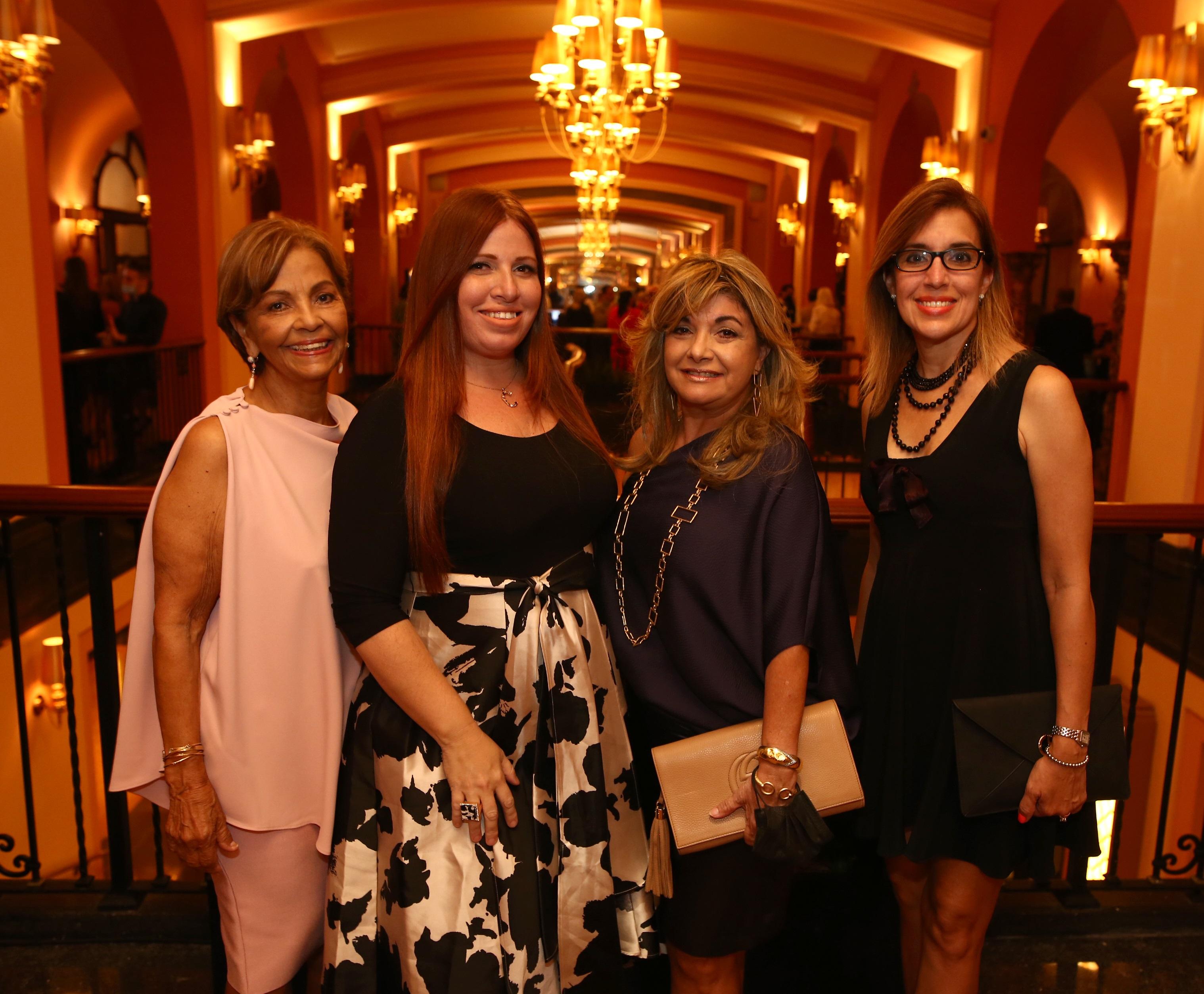Caly Rodríguez, Coralie Rivera, Lily Rodríguez y Glenda Rivera (Foto: José Rafael Pérez Centeno)