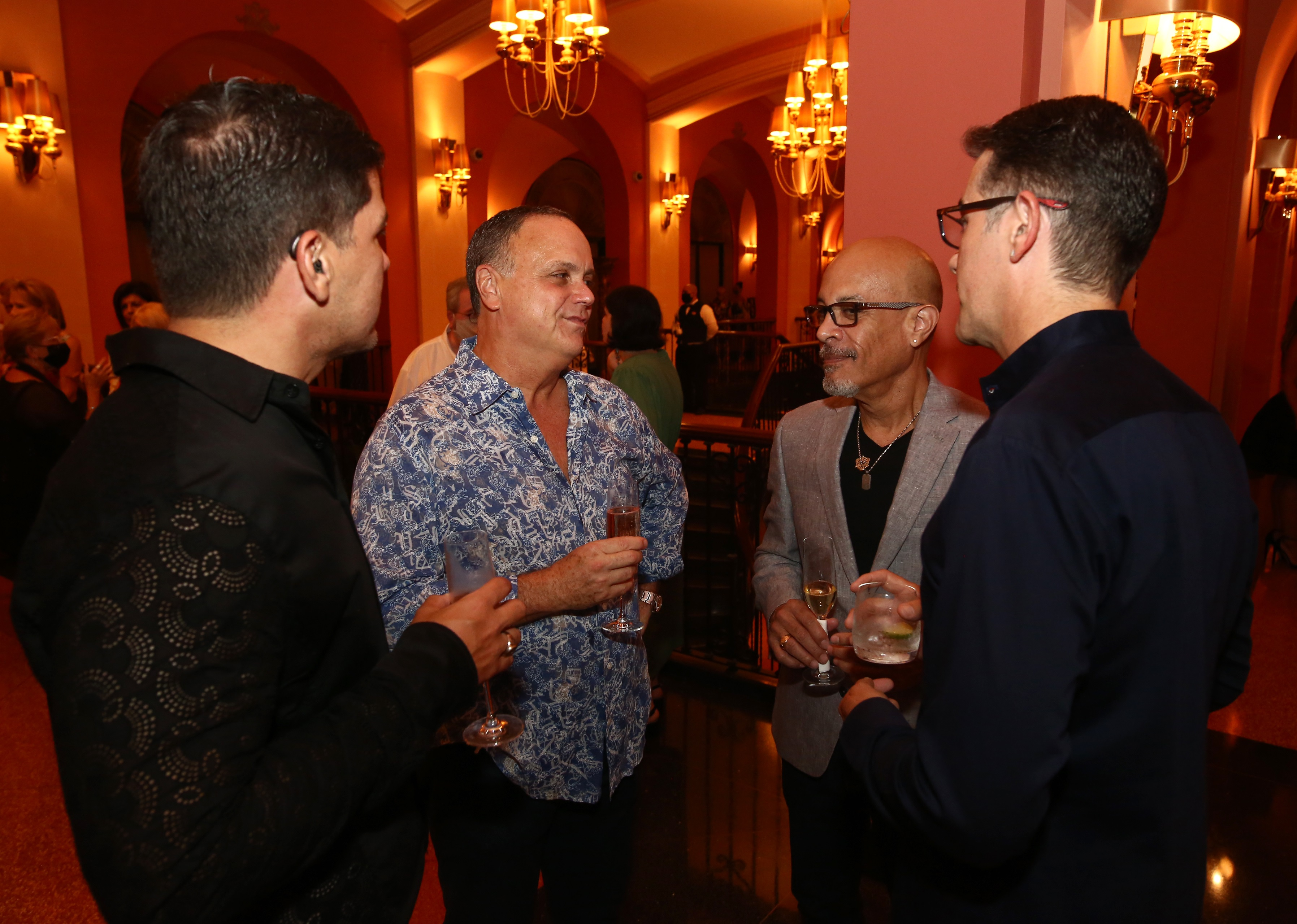 Luis Quintana, Alberto Fernández, Quique Rentas y Héctor Ortiz (Foto: José Rafael Pérez Centeno)