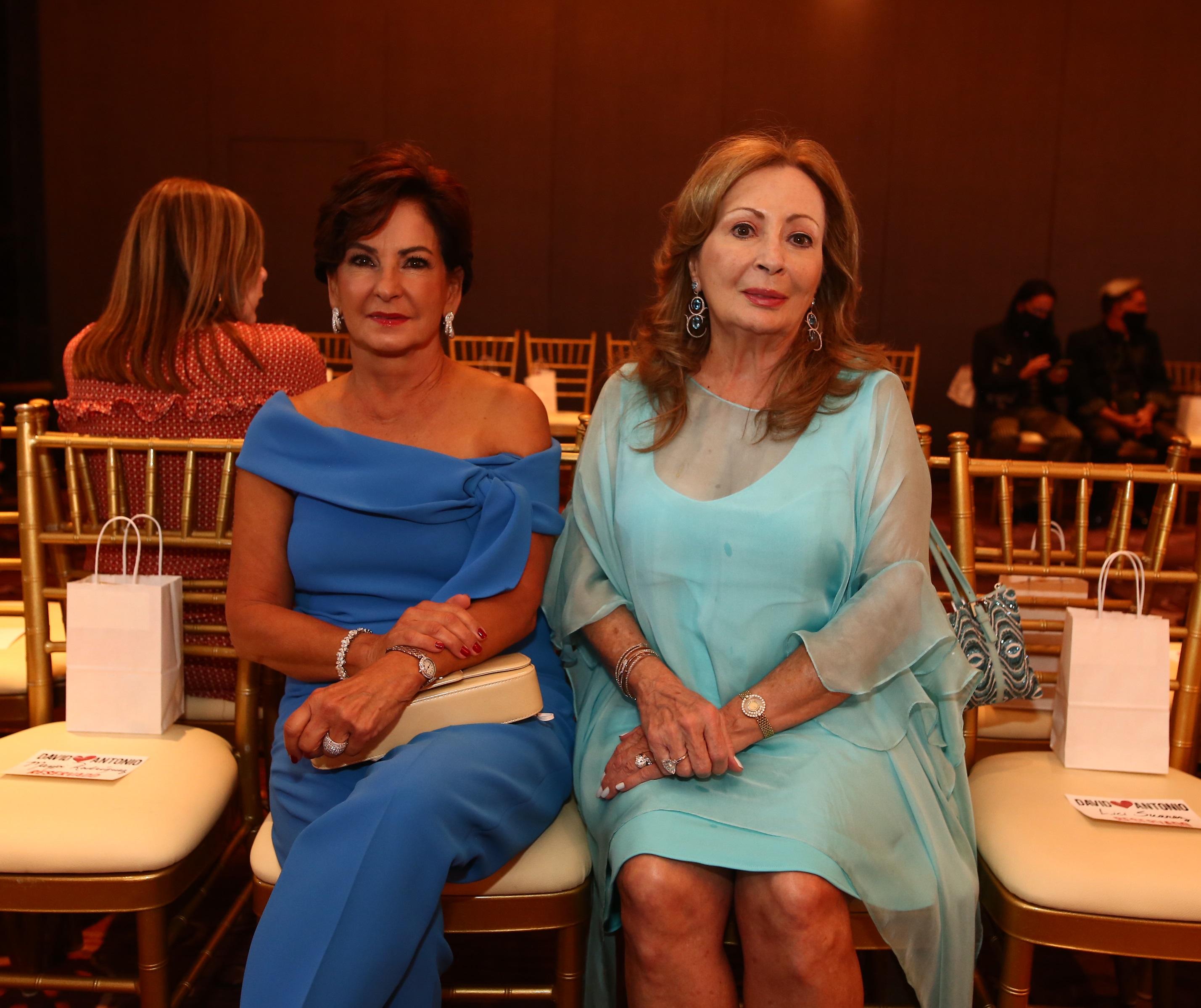 Anabel Rivera y Tensy Vela (Foto: José Rafael Pérez Centeno)