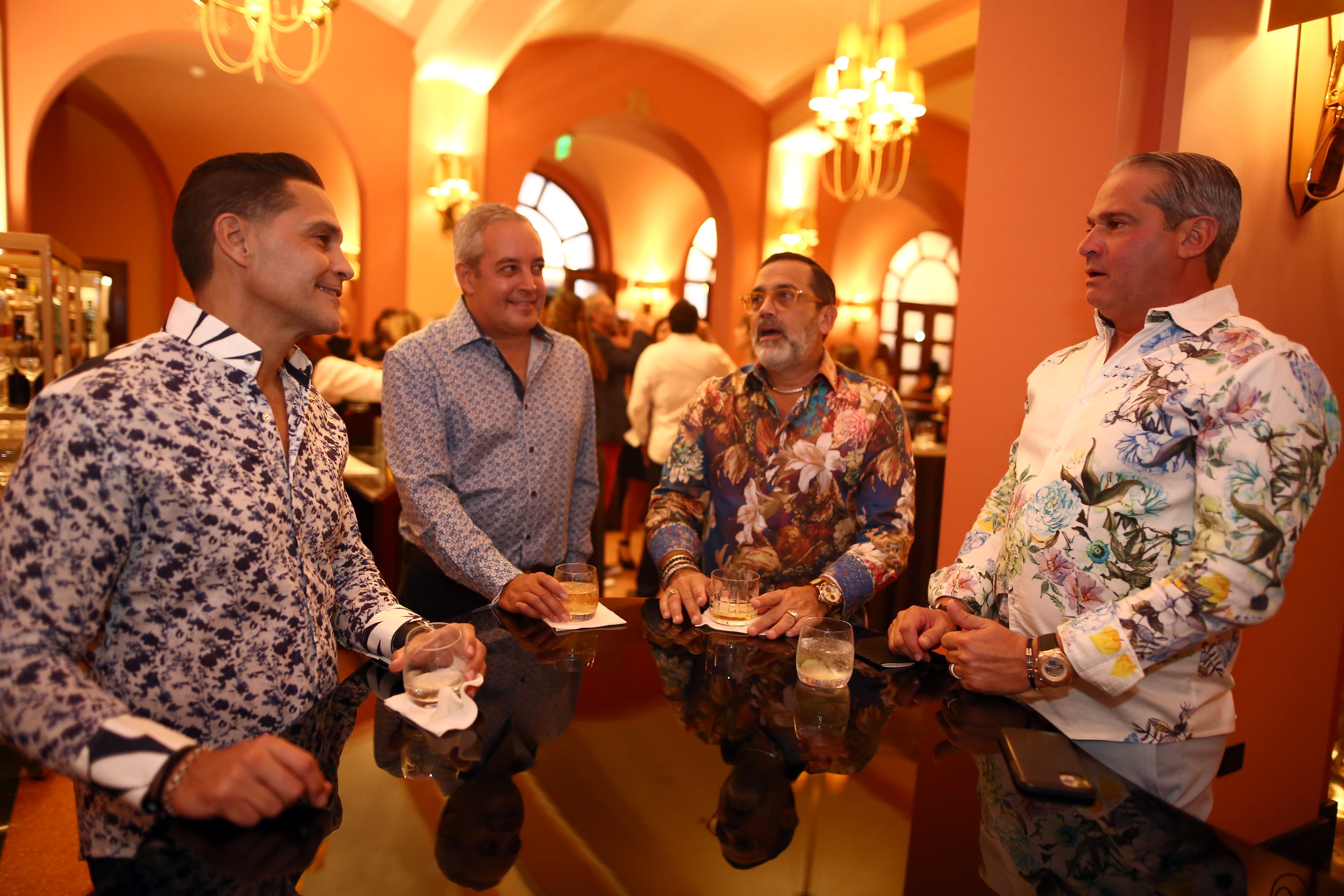 Javier Reyes, Leonardo Ortiz, William McGraw y Luis Marquez (Foto: José Rafael Pérez Centeno)