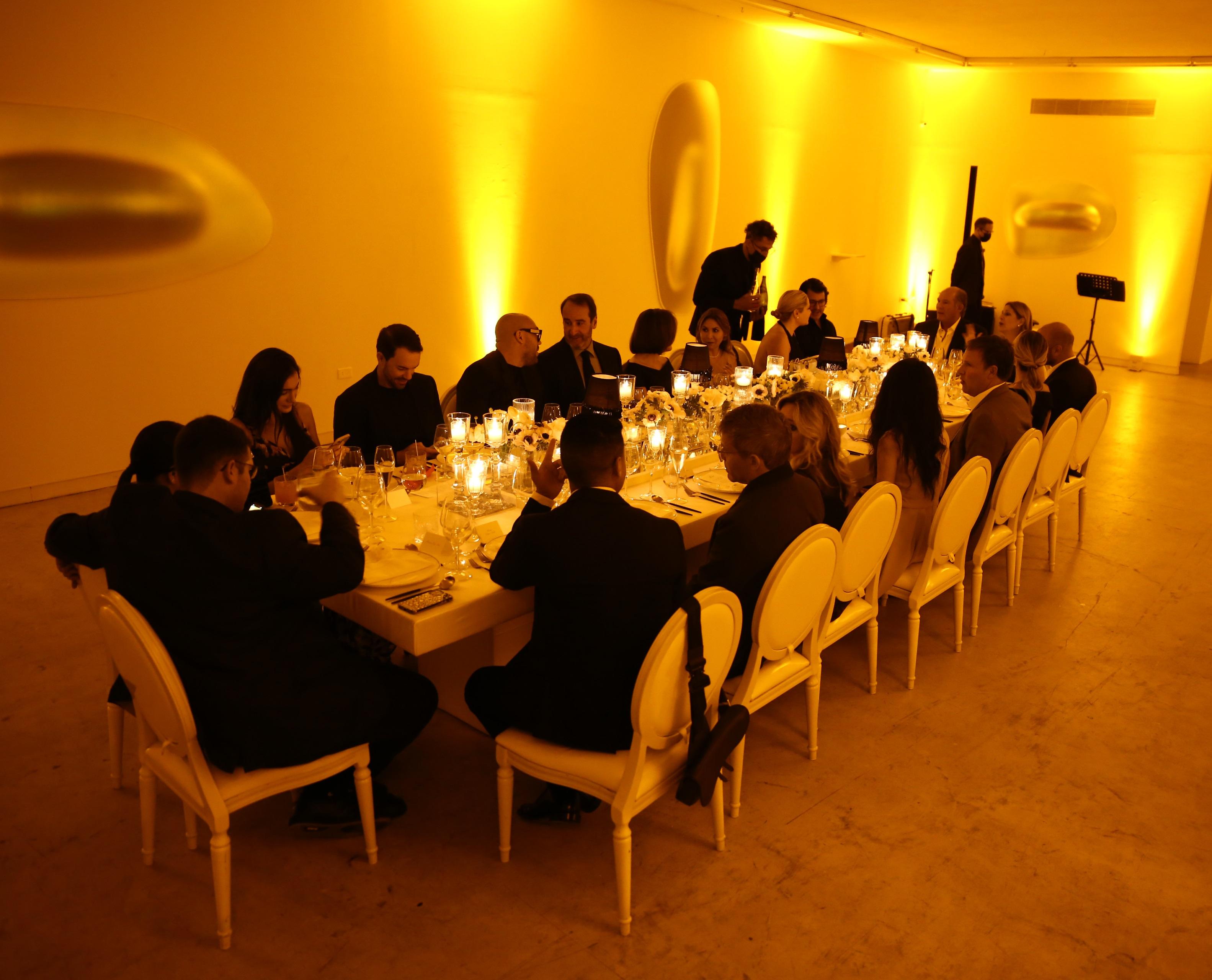 La cena tuvo lugar en Walter Otero Contemporary Art. (José Rafael Pérez Centeno)
