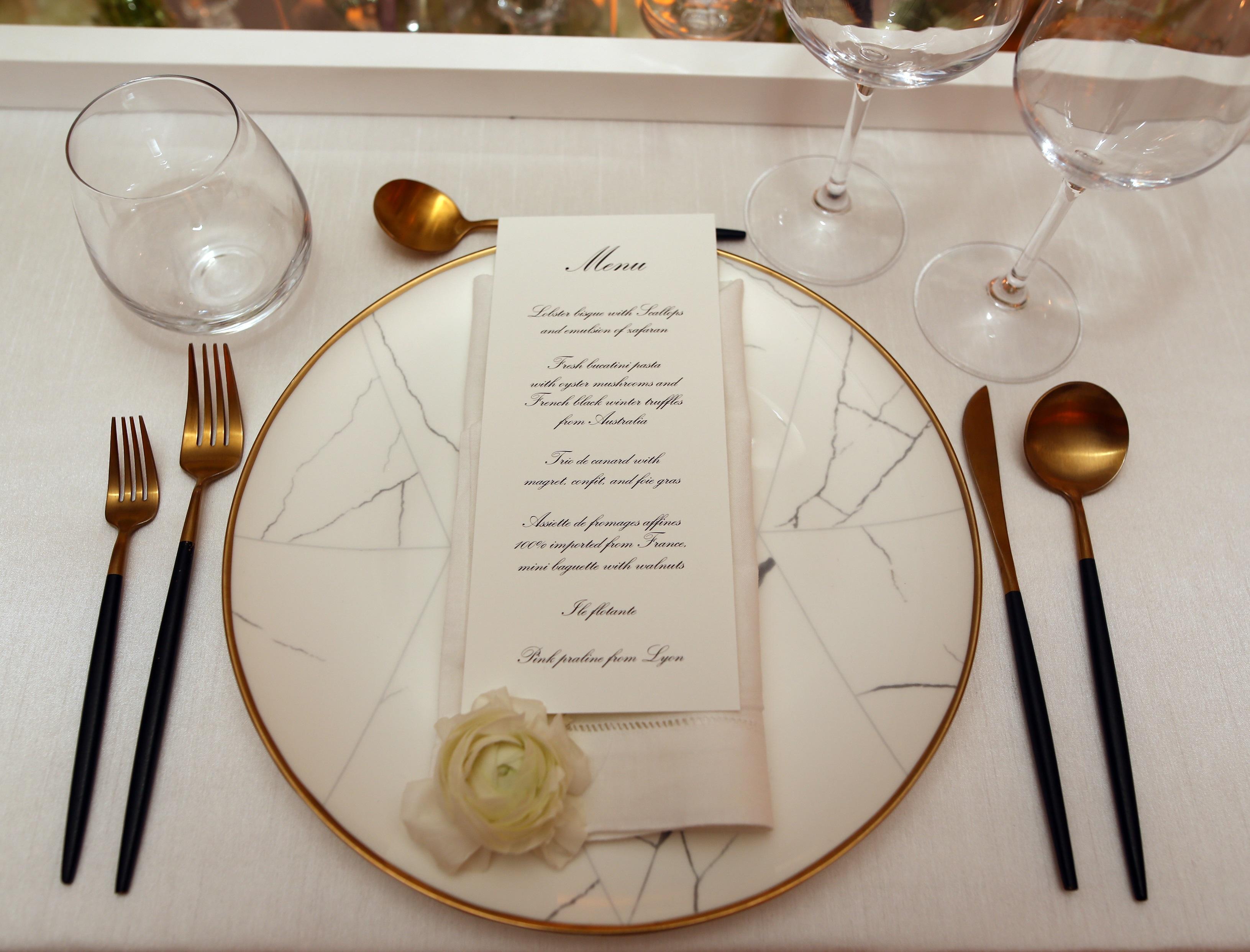 Los invitados disfrutaron de una  cena exquisita. (José Rafael Pérez Centeno)