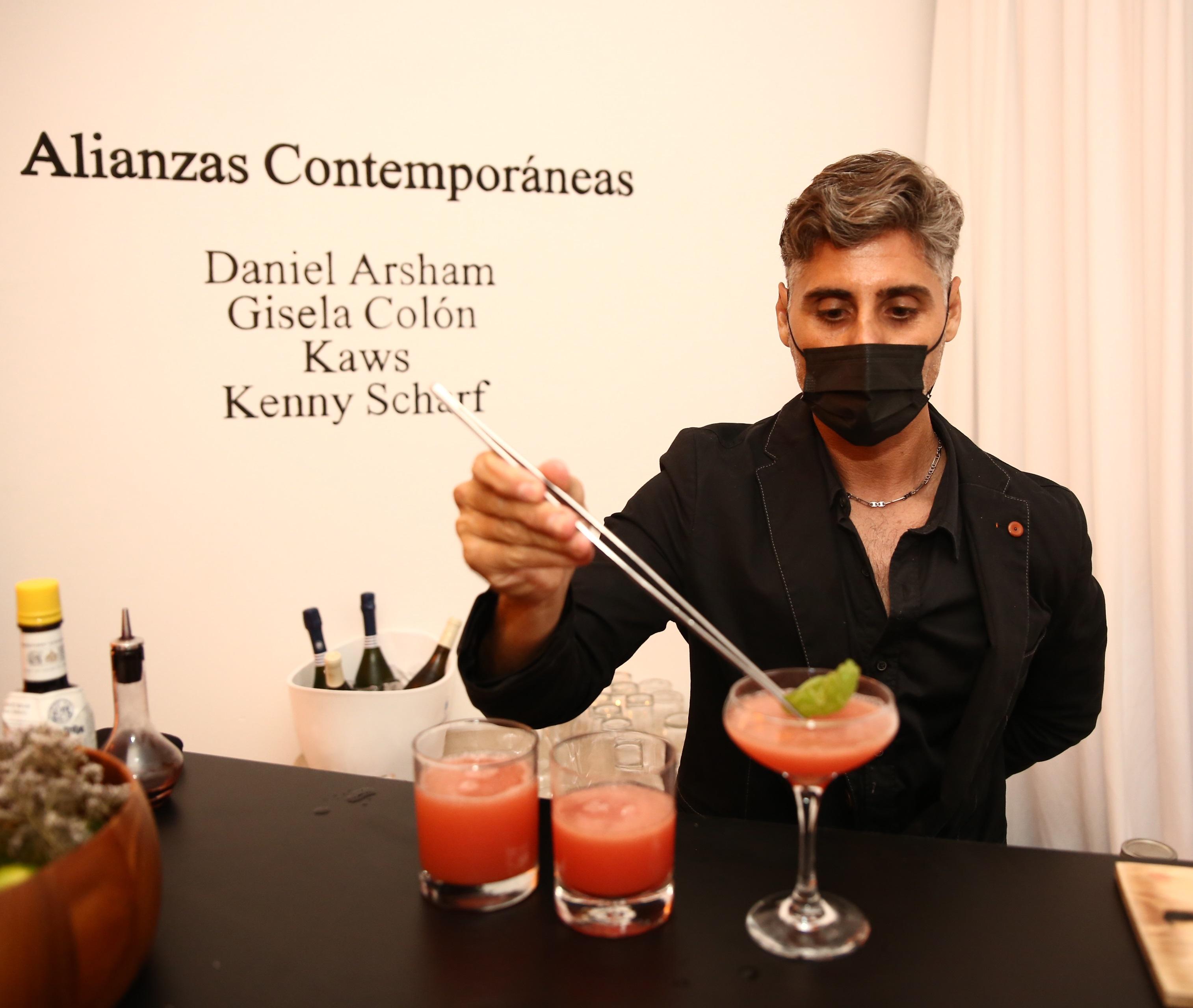 El mixólogo Michael Norat (José Rafael Pérez Centeno)