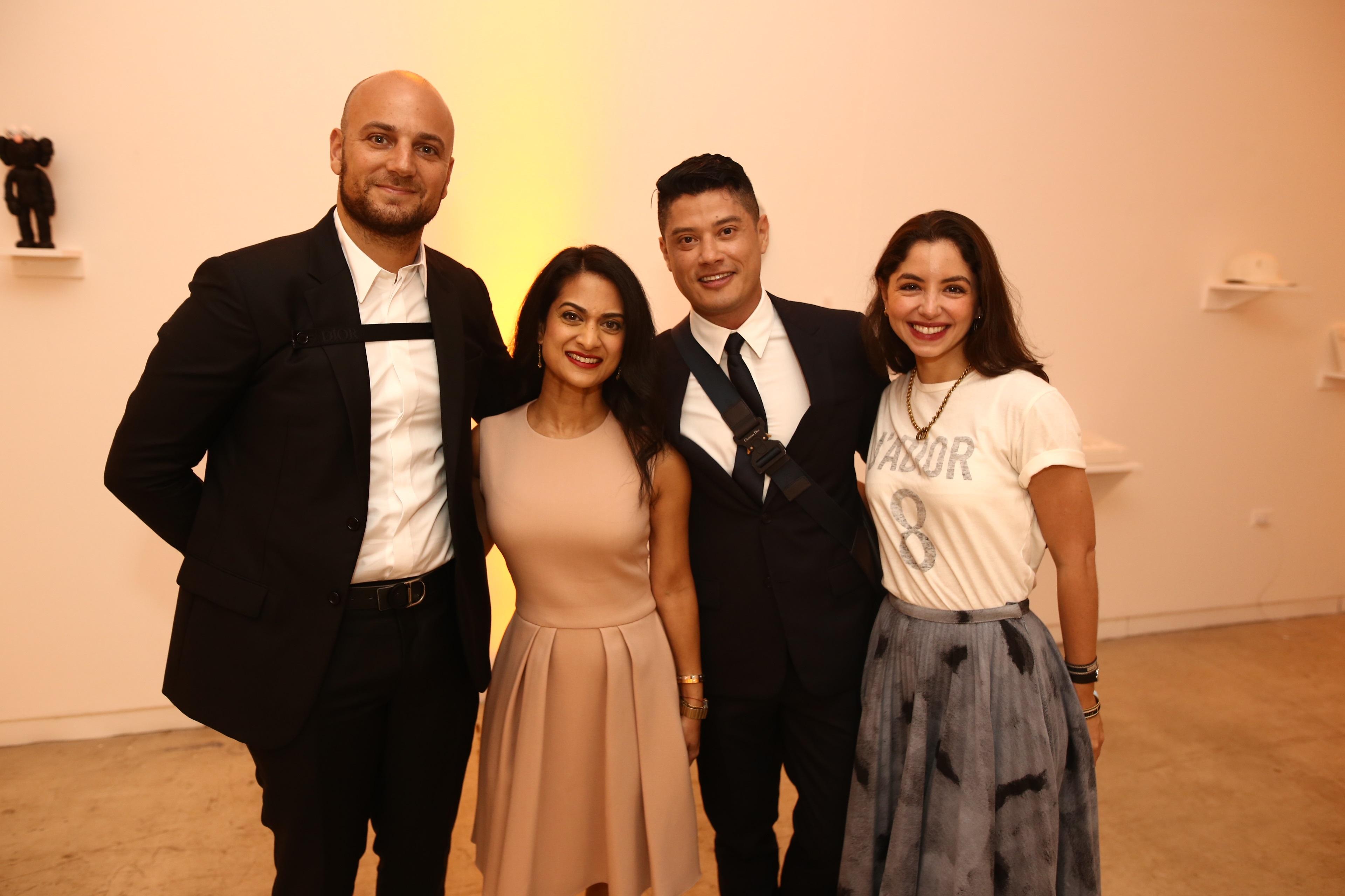 El equipo de Dior que estuvo presente en la actividad. (José Rafael Pérez Centeno)