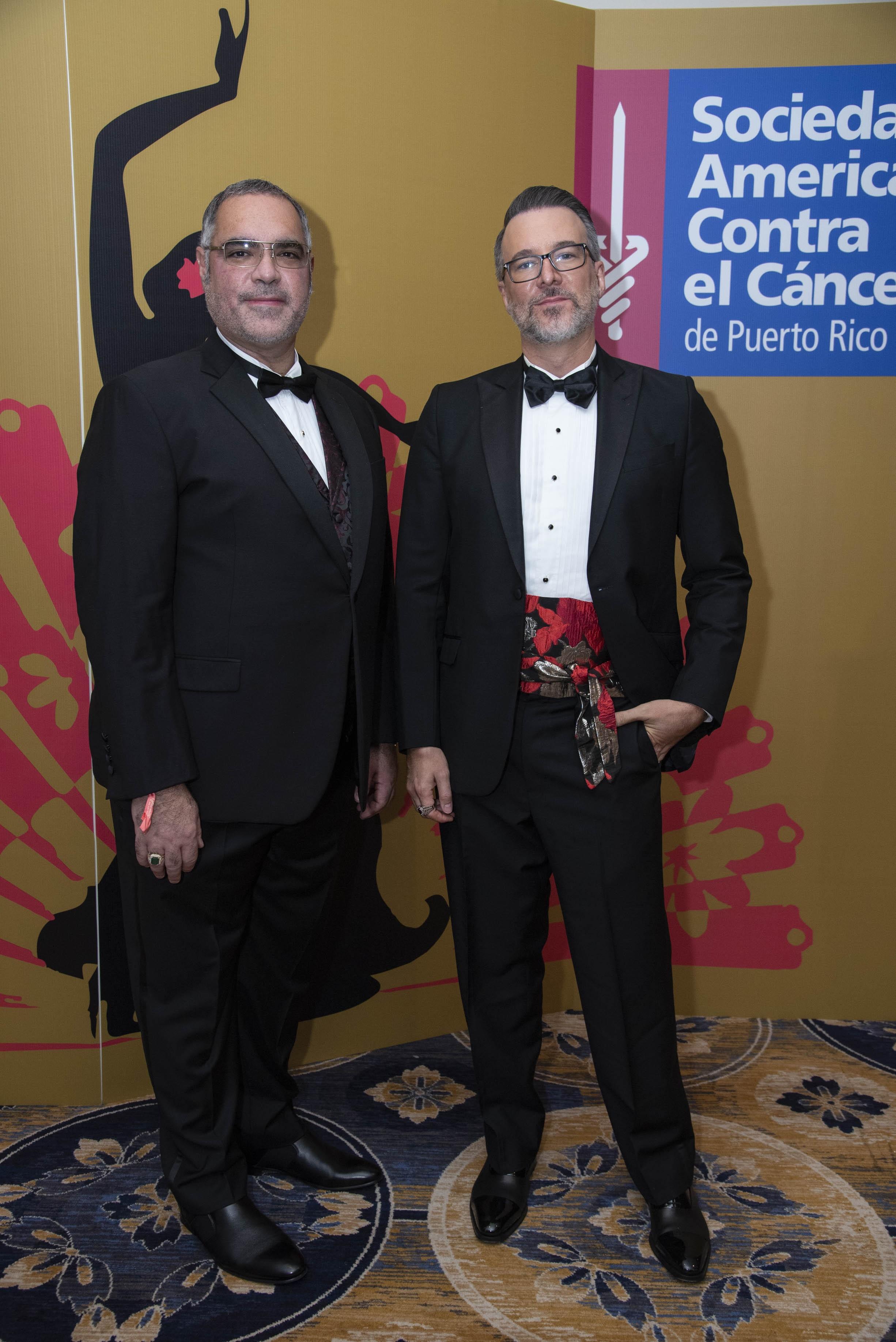 Guillermo Villamarzo y Frank Kinard (Suministrada)