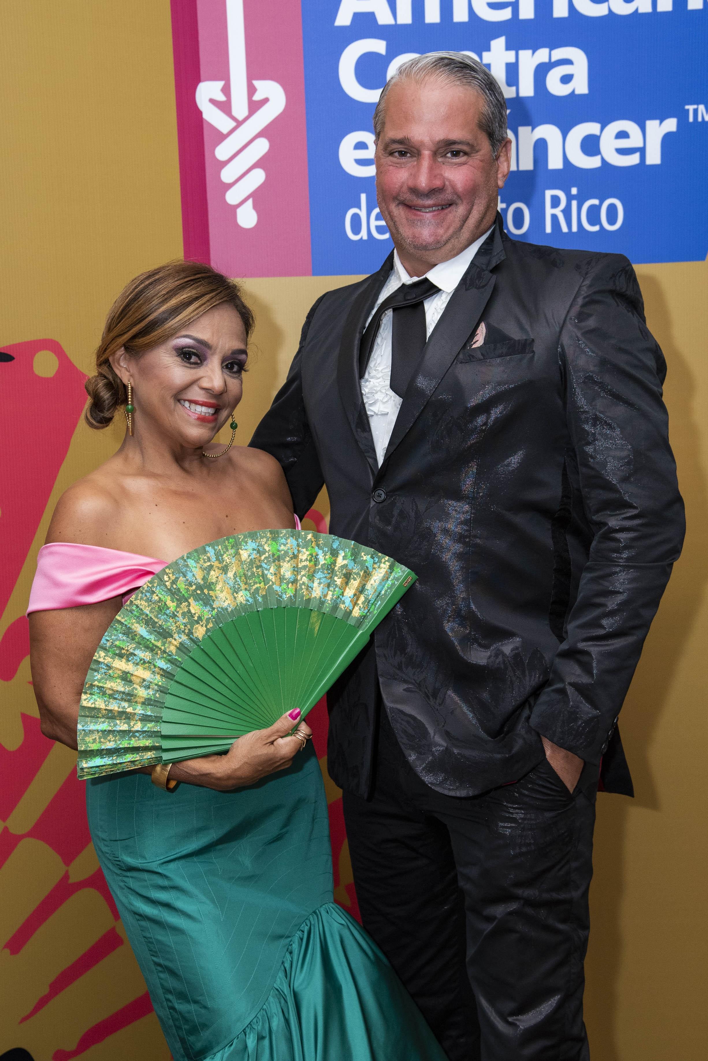 Zenaida López y Luis Márquez. (Suministrada)