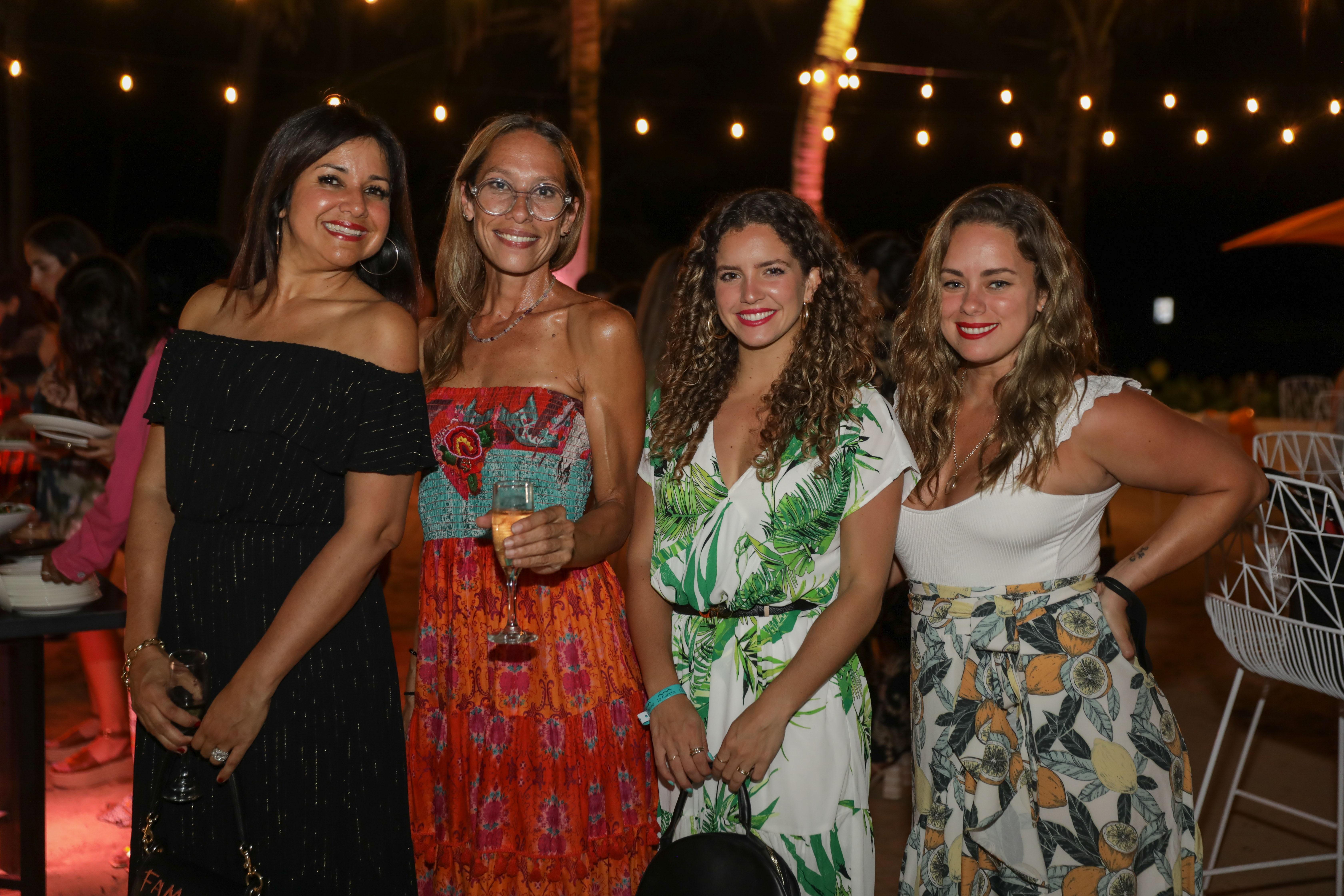 Nilda Ortiz, Virna Flores, Gabriela Short y Vanessa Torrella (Suministrada)