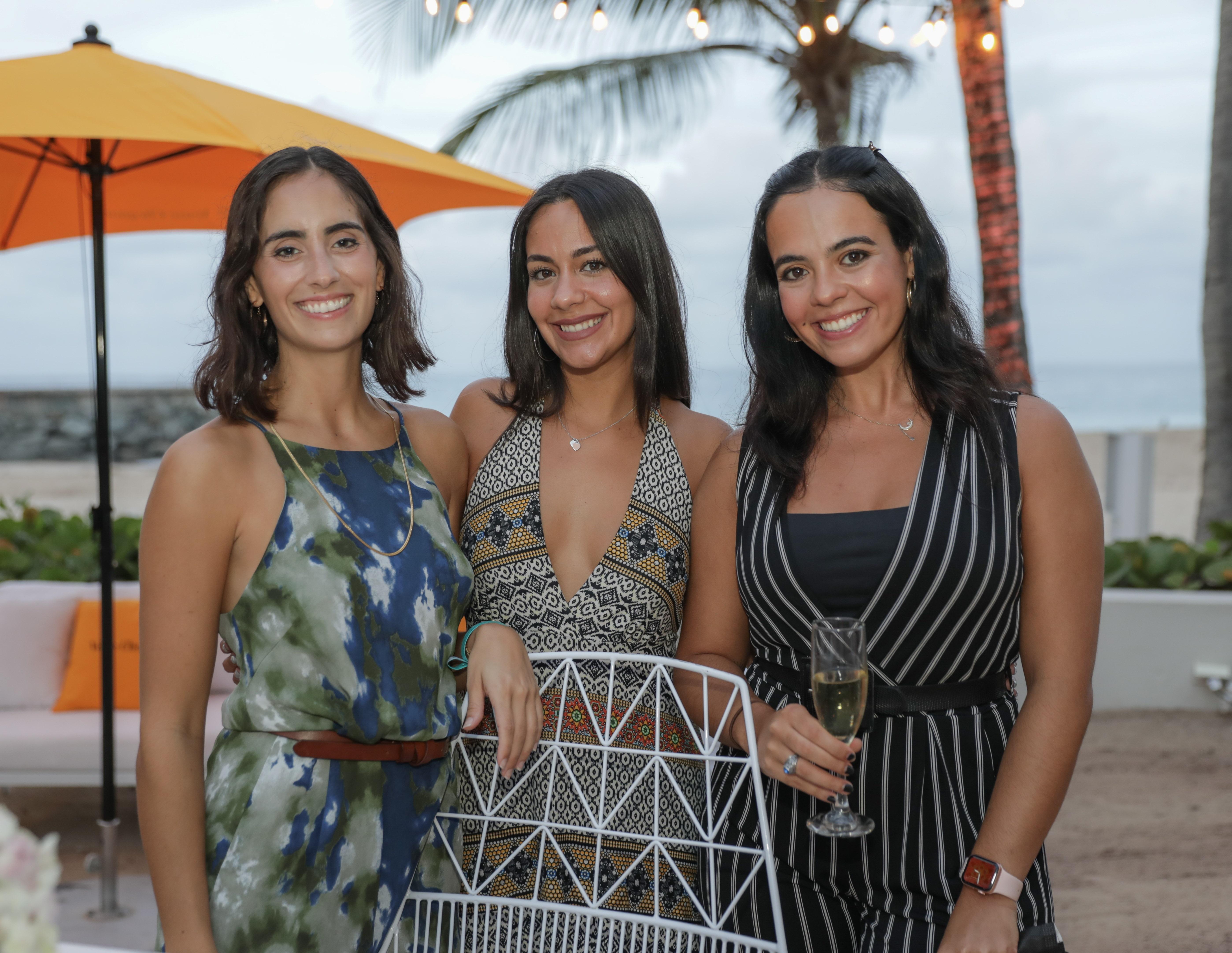 Camelia Rojas, Glorisix Rosario y Mónica Gómez (Suministrada)