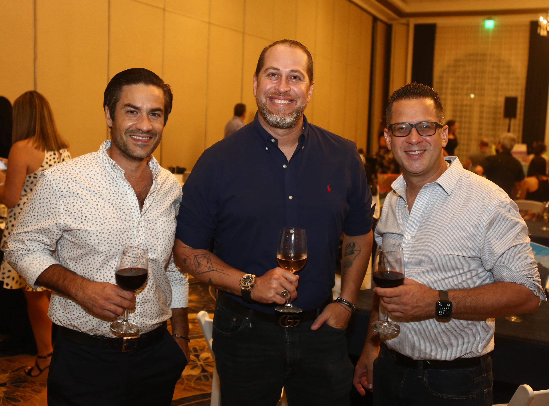 Juan Carlos Trullenque, Daniel Negrón y Jorge Ferreira (José Rafael Pérez Centeno)