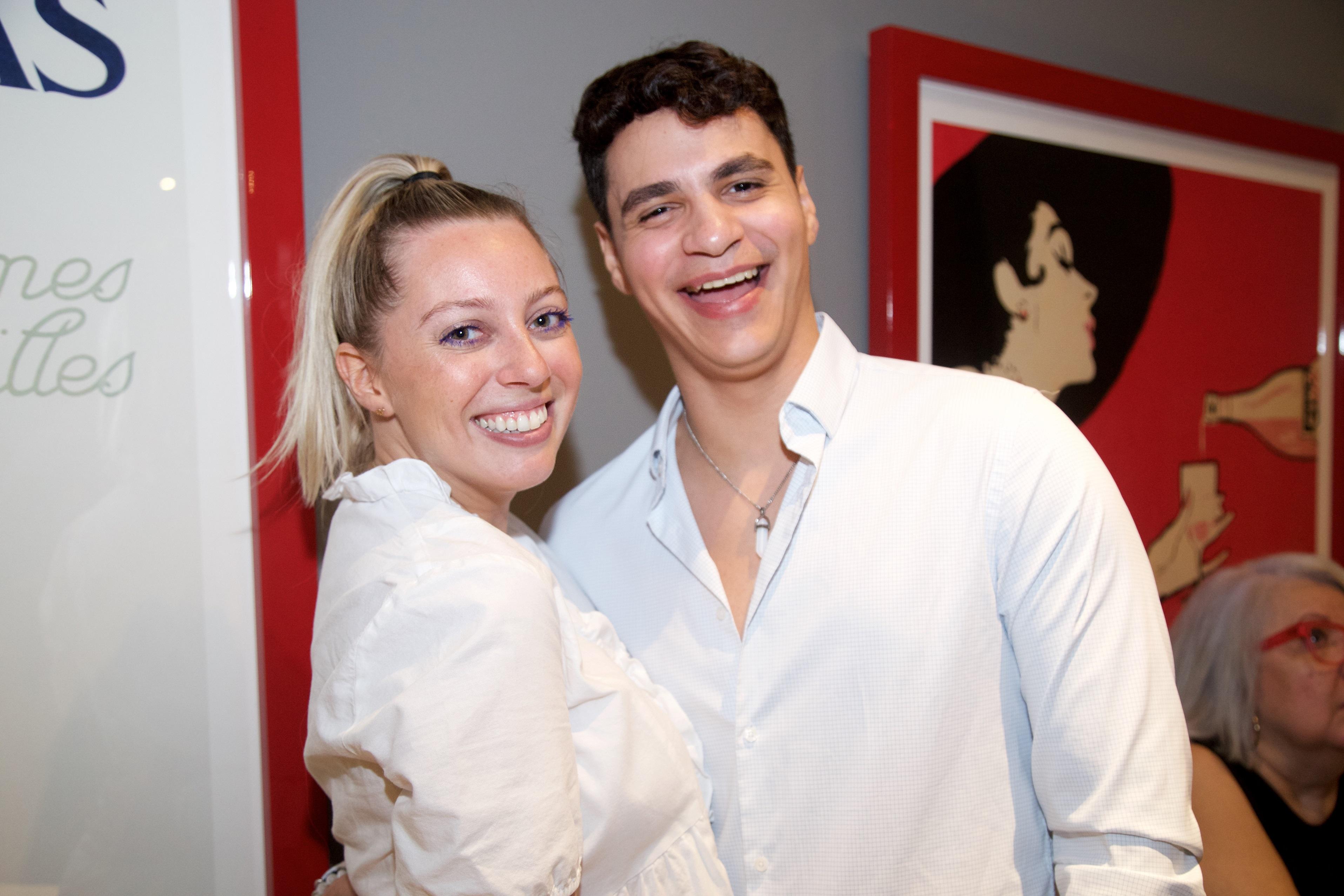 Natacha Rivero y Gabriel García (Nichole Saldarriaga)