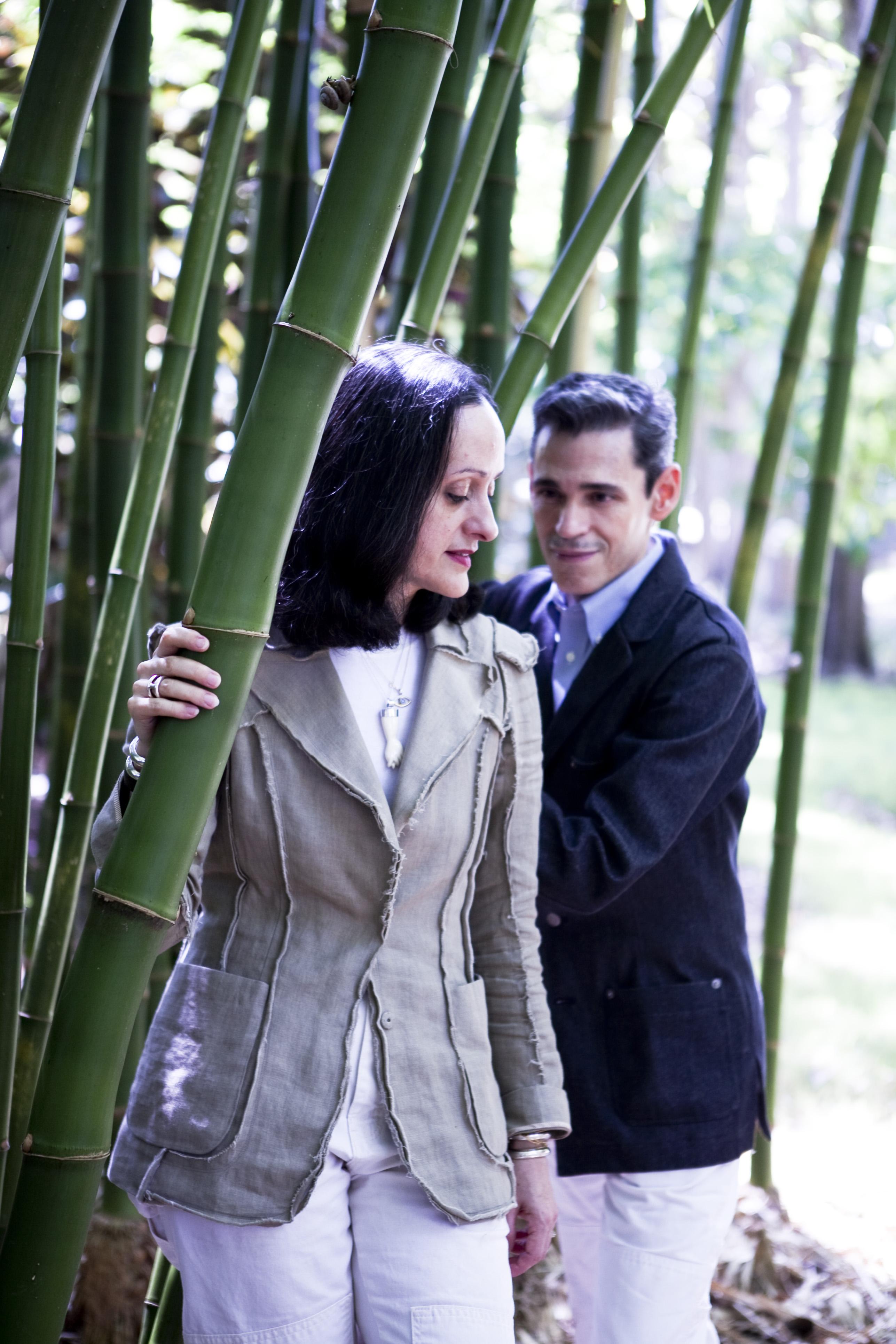 """""""Para mí fue amor a primera vista"""", reveló Ruben en su entrevista con Magacín, """"Tengo unos instintos magníficos para lo que me conviene. E Isabel es mi ingrediente esencial"""". Verlos en fotos hace pensar parejas como Frida Kahlo y Diego Rivera, en Salvador Dalí y Gala. """"Cada matrimonio es una colaboración especial y única, tan profunda y complicada como las personas mismas"""", añadió Isabel. (Foto Archivo GFR Media)"""