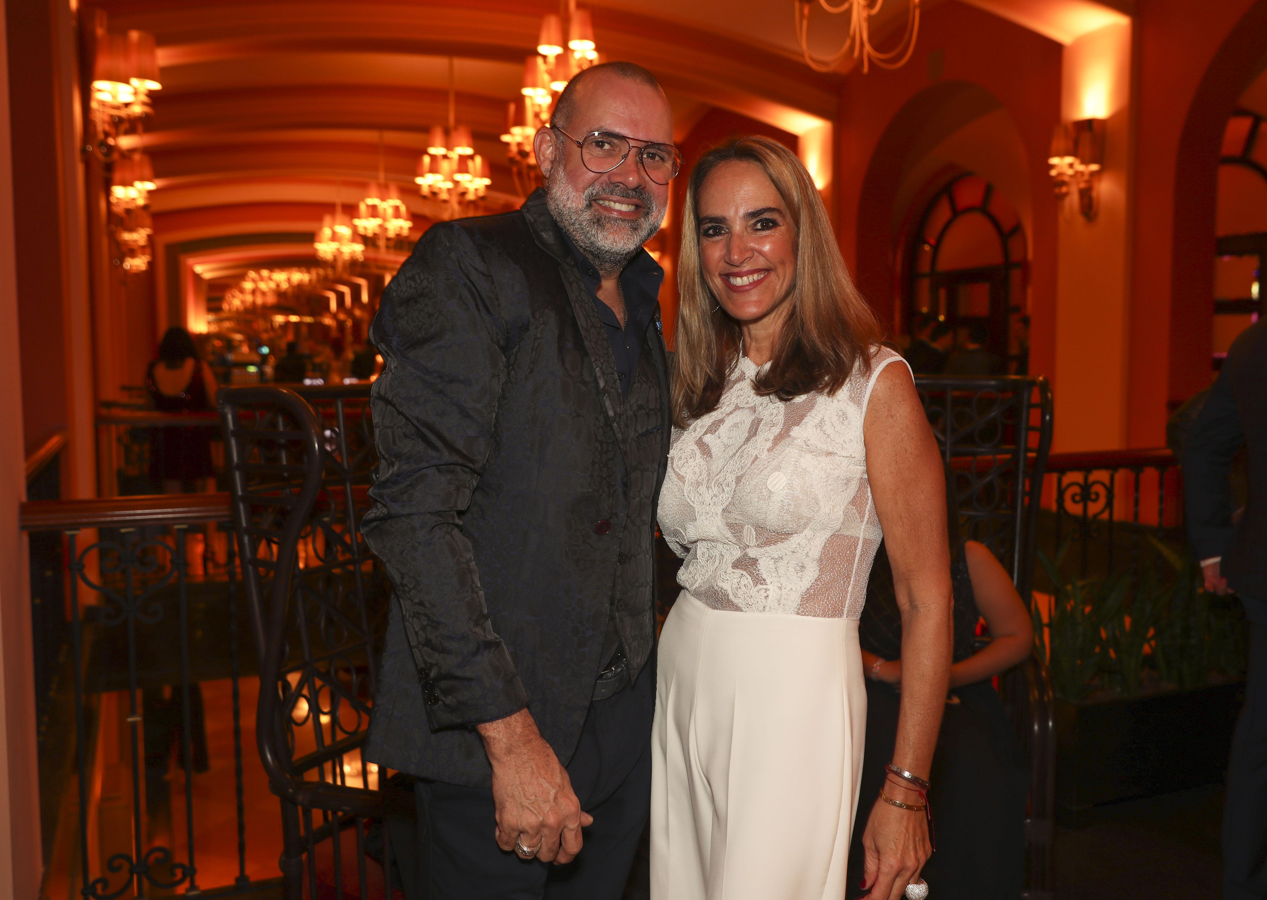 David Antonio y Mariana Aguirrechu. (Suministrada)
