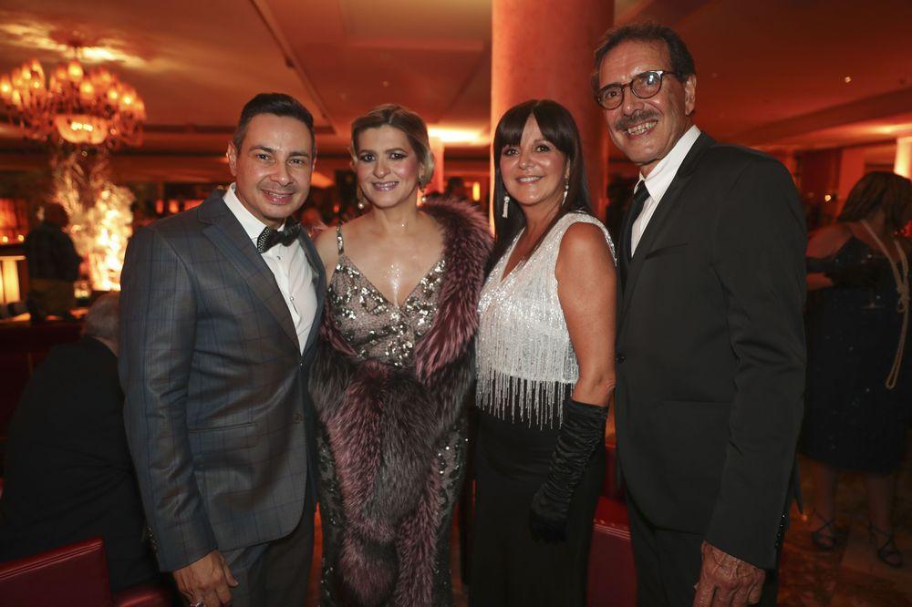 David Silva, María Chévere, Annette Oliveras y Miguel Avilés. Foto suministrada