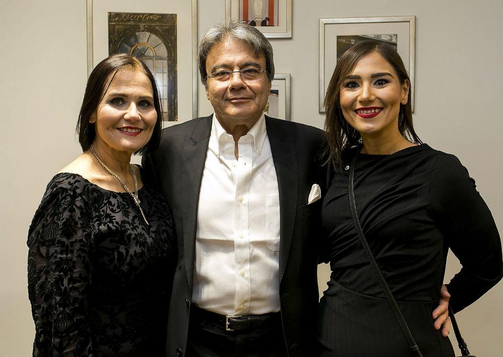 Luisie Bonnín, Luis Nazario y Luisa Nazario. (Xavier.García)