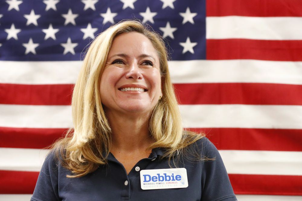 Debbie Mucarsel-Powell – Se convirtió en la primera ecuatoriana en el congreso estadounidense al ganar el escaño por el distrito 26 de Florida con el Partido Demócrata, obteniendo más del 50% de los votos. (Foto: AP)