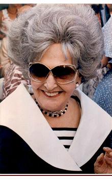Felisa Rincón de Gautier (1897-1994): primera alcaldesa de San Juan en 1946, puesto que ocupó durante 22 años. (Archivo)