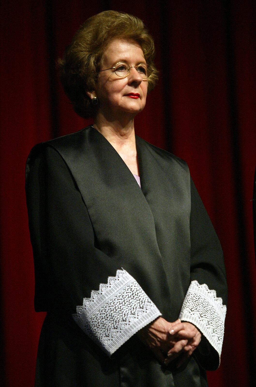 Miriam Naveira Merly (1934-2018): primera mujer en ser Jueza Asociada del Tribunal Supremo de Puerto Rico y primera en ser Jueza presidenta. (Suministrada)