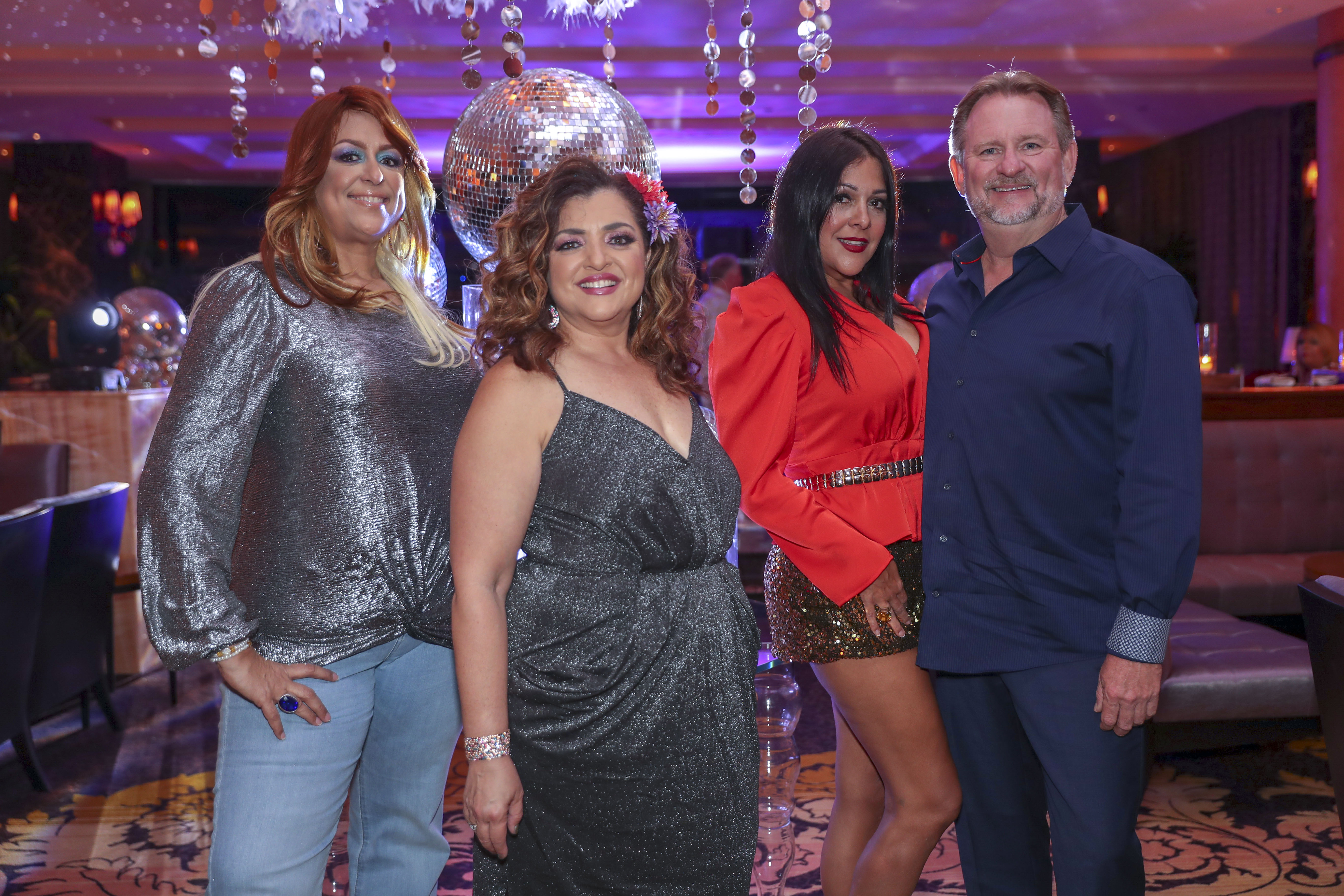 Delma Reyes, Marcelle Martell, Mary Mas y Mark Miller. (Suministrada)