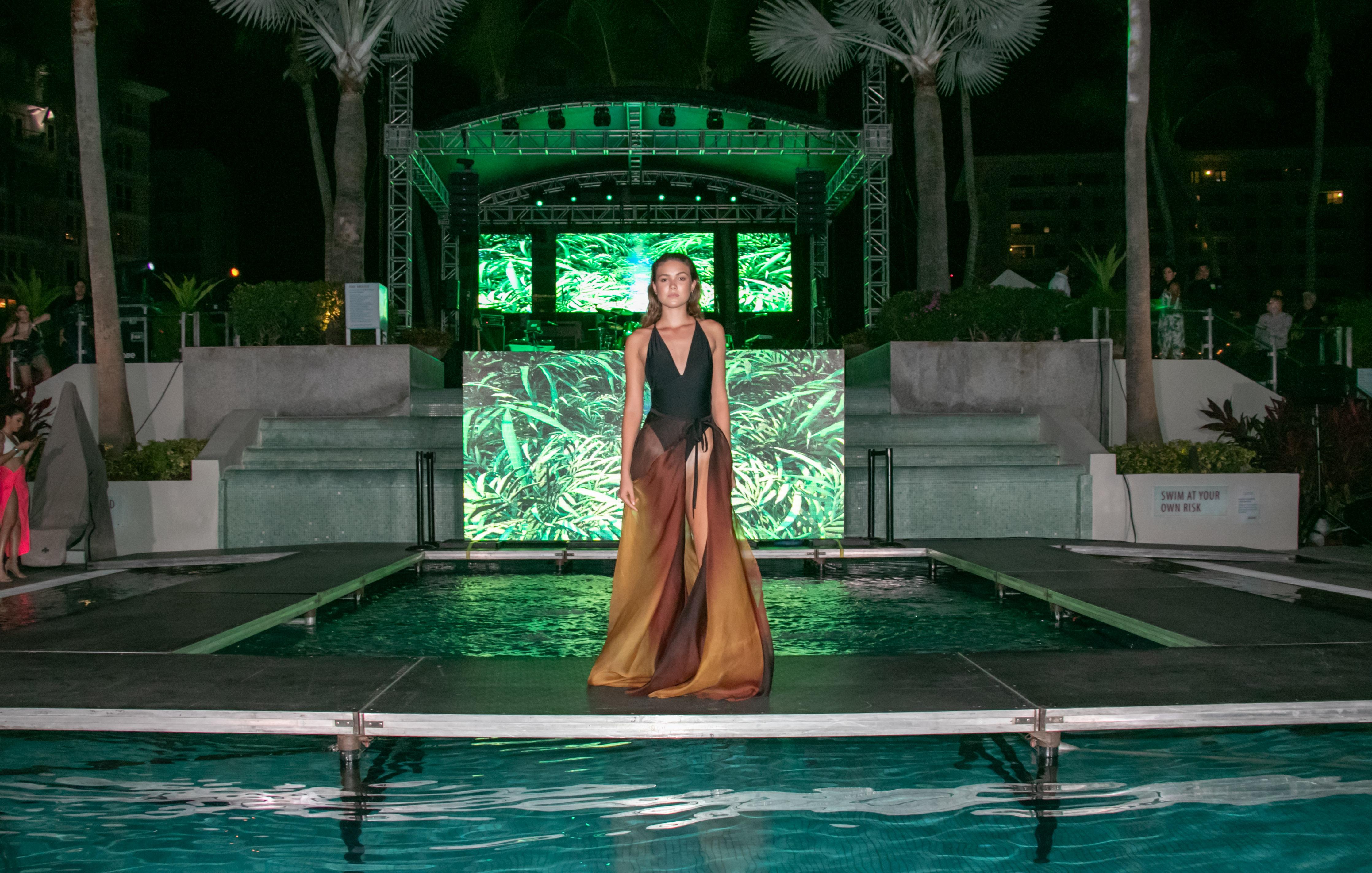 La velada presentó además un pase de moda resort de la diseñadora puertorriqueña Margarita Álvarez. (Suministrada)