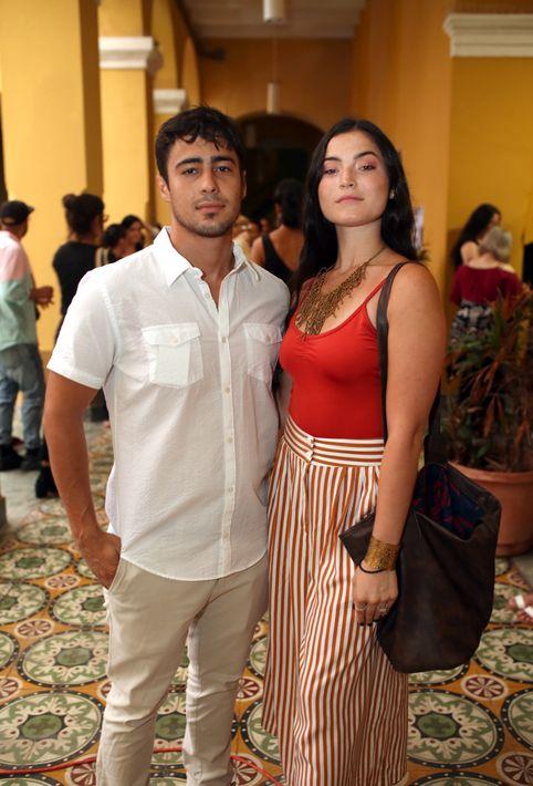 Harry y Alejandra Gonzalez. (Foto: José Rafael Pérez Centeno)