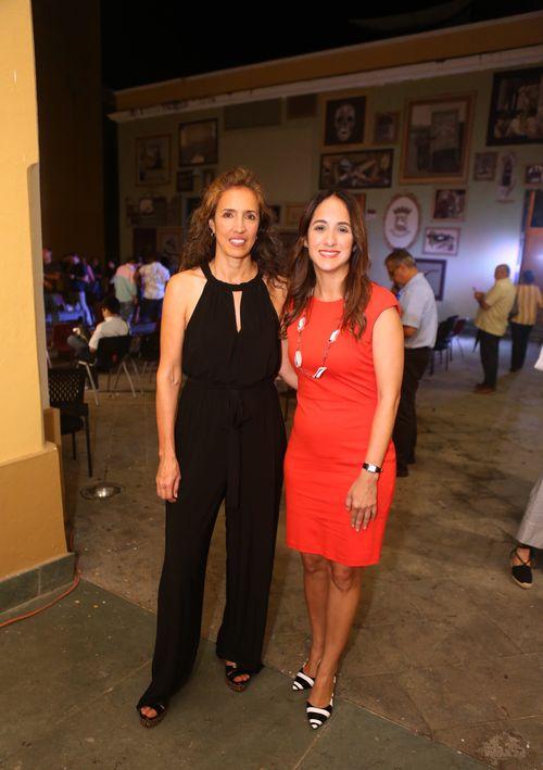 Ana Colorado e Ileana Muñoz.  (Foto: José Rafael Pérez Centeno)