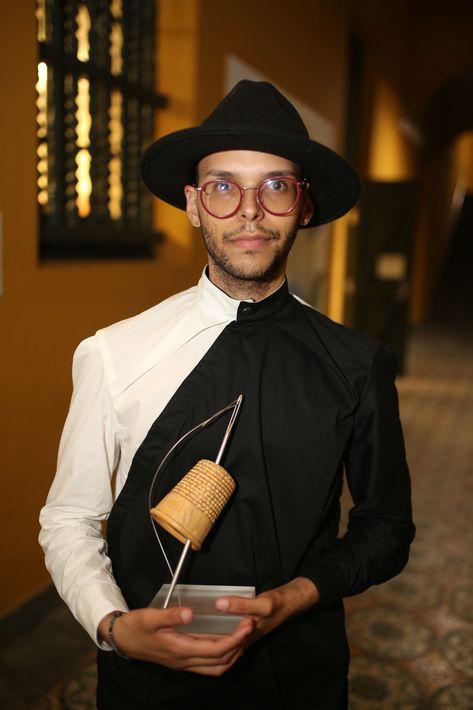 Xavier Lopez fue uno de los estudiantes premiados. (Foto: José Rafael Pérez Centeno)