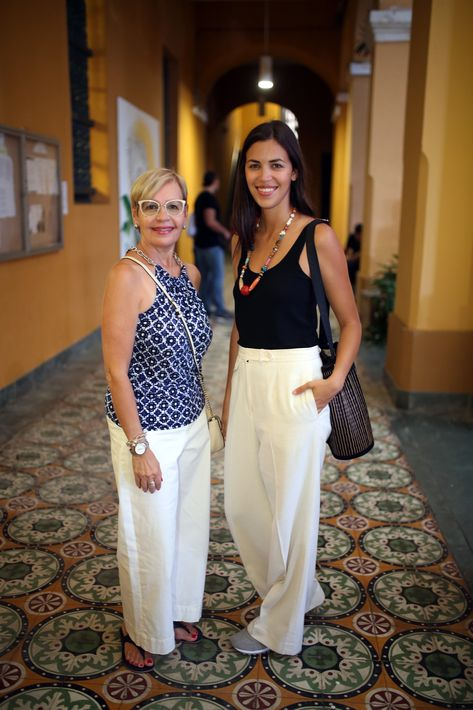 Millie Berrios y Gaby Pagán. (Foto: José Rafael Pérez Centeno)