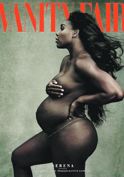 La tenista Serena Williams causó furor con su sesión de fotos para la reconocida fotógrafa Annie Leibovitz. (Archivo)