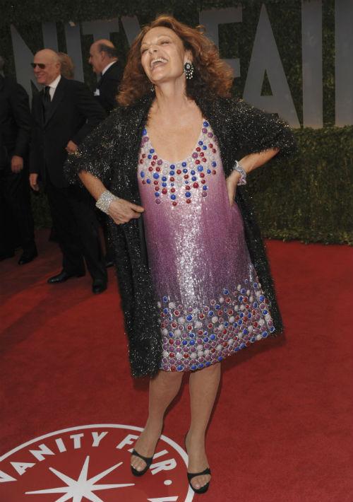 "Famosa por su ""wrap dress"", Diane von Furstenberg tiene 70 años. (Archivo)"