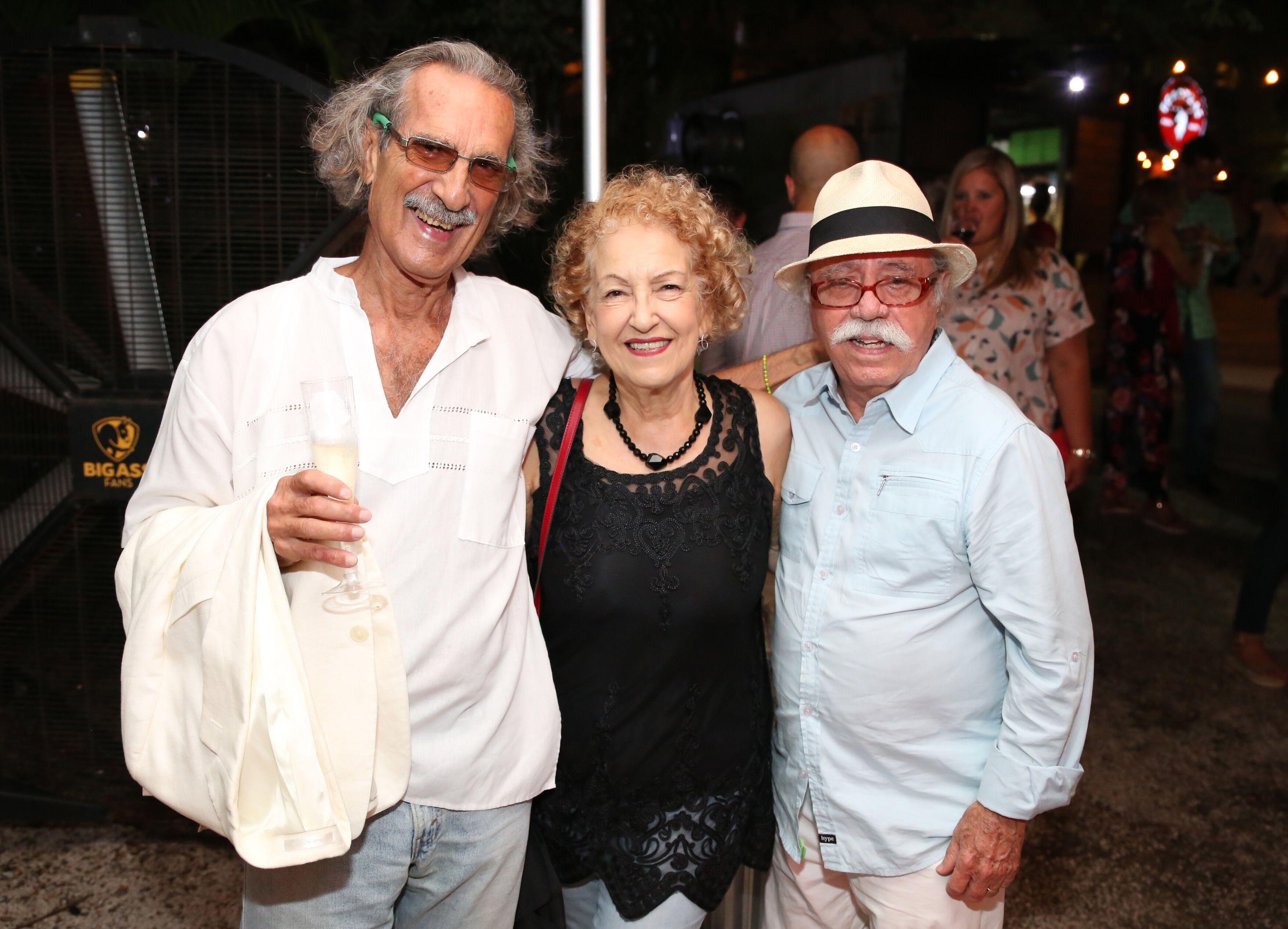 Figuras del cine como Diego de la Texera, Zoraida Sanjurjo y Luis Antonio Rosado se dieron cita en el festival. (Suministrada)
