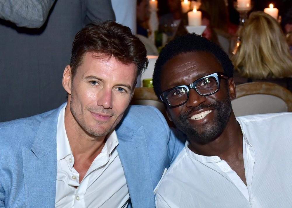 Alexander Lundqvist y Tony Okungbowa. (Foto Suministrada)