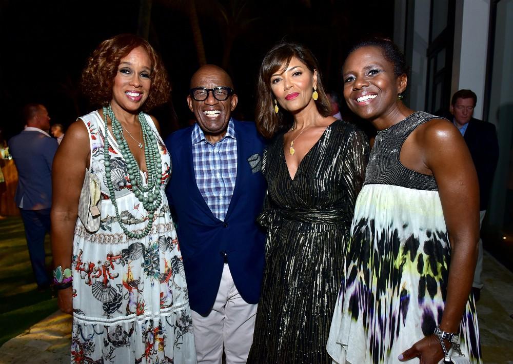 Gayle King, Al Roker, Prudence Solomon y Deborah Robert. (Foto Suministrada)