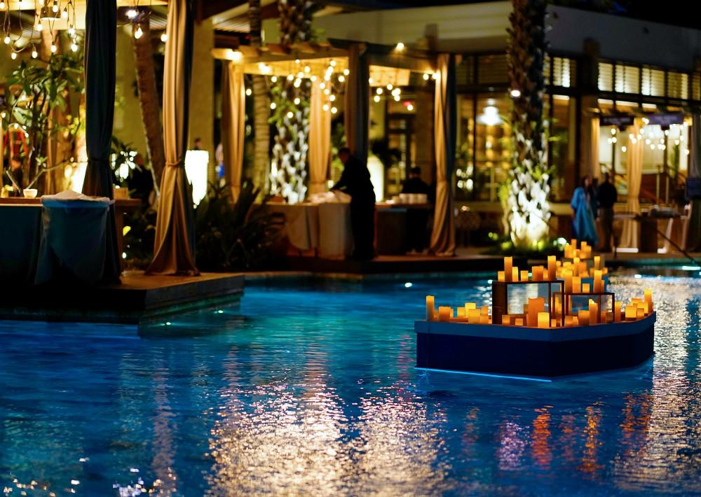 Una de una de las piscinas de la legendaria propiedad. (Foto Suministrada)