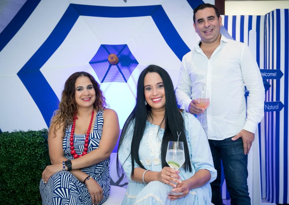 Doriann Romero, Elizandra Urbina y Juan Carlos Aponte. (Suministrada)