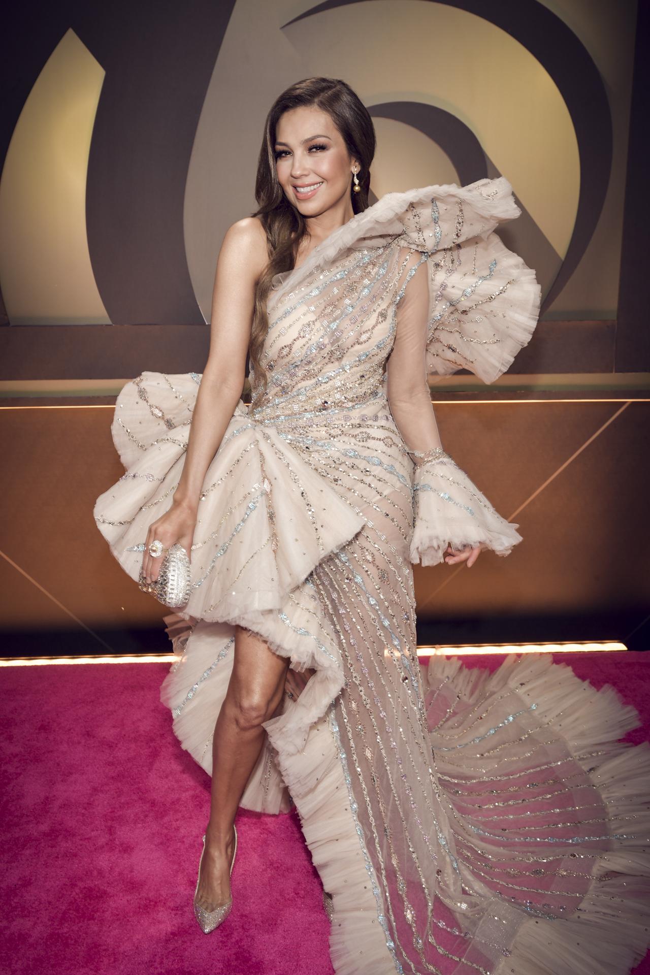 La cantante mexicana Thalía. (Suministrada/ Univision)