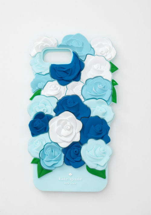 Casacas para celulares de flores Kate Spade (para iPhone 6, 7 & 8), de Accessorit. (Foto: Suministrada)