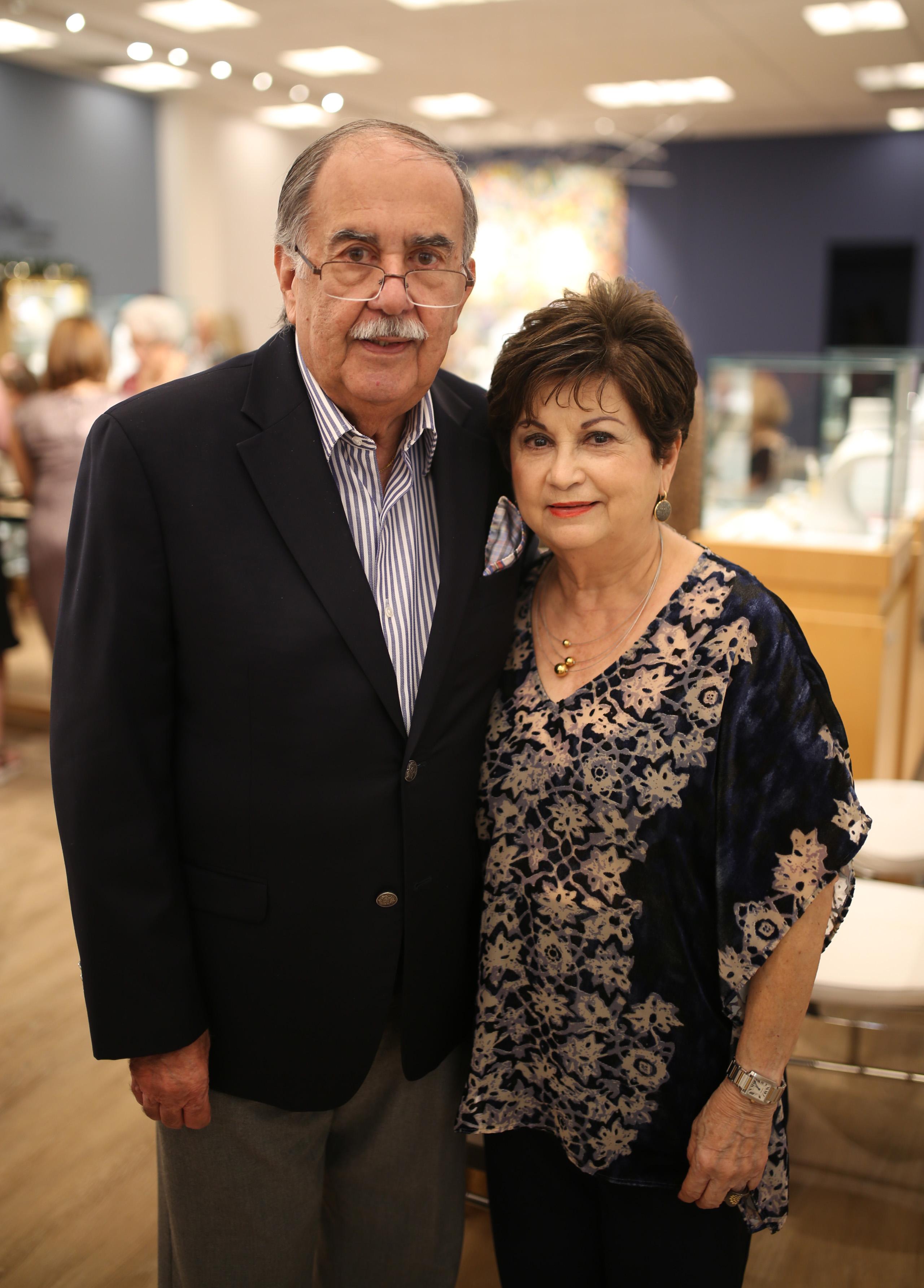 Hilda y Ernesto Rive Mora. (Suministrada)