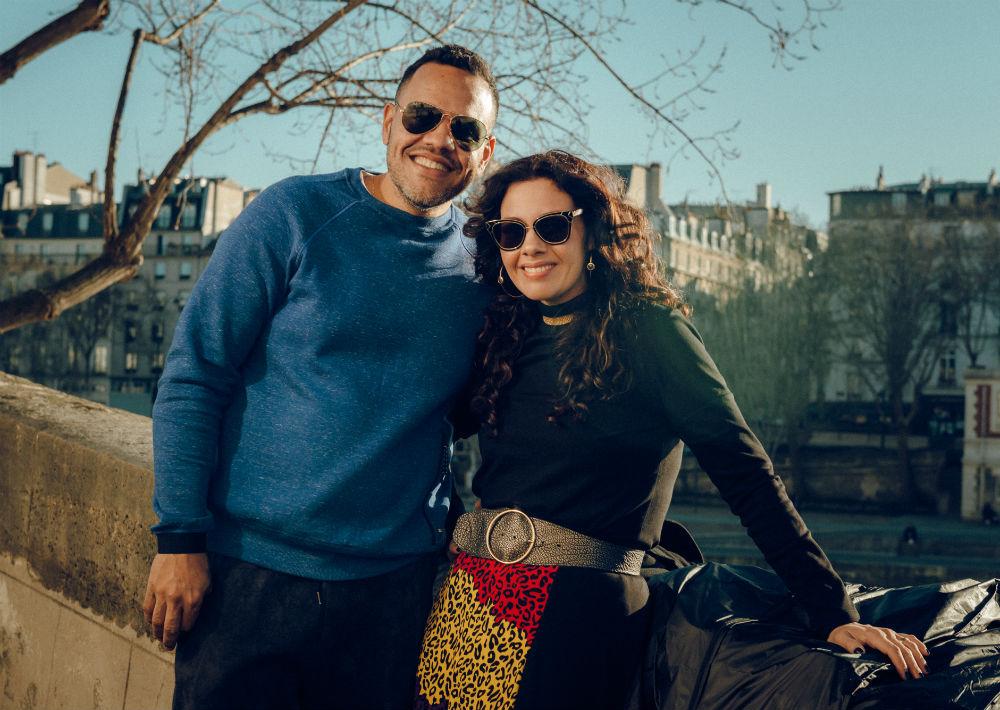 Miriam Budet junto a su esposo, David Mercado Vicenty. (Foto: Suministrada/ Eli Santa)