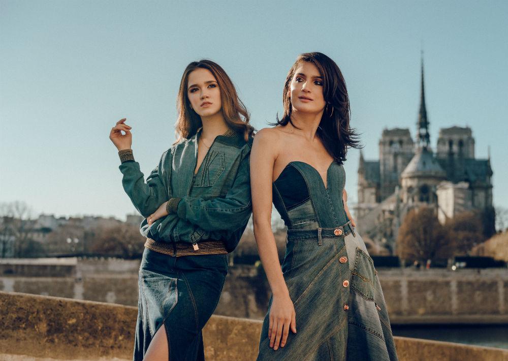 Las puertorriqueñas Alondra Balzac y Karla Santori viajaron a París para unirse al grupo de modelos que participó del desfile de Budet. (Foto: Suministrada/ Eli Santa)