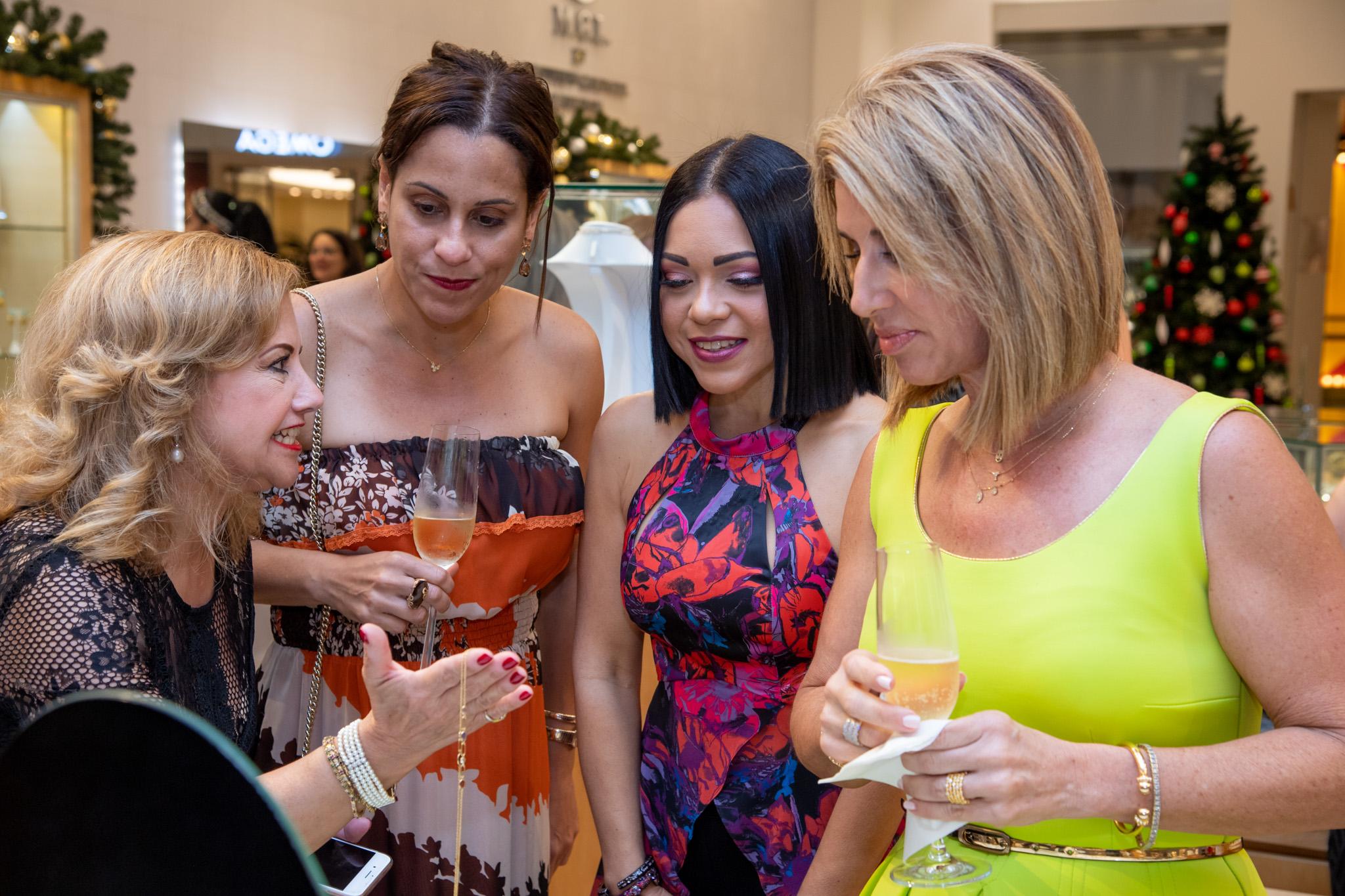 Elbita Gely, Fabiola Ansotegui, Brenda Ramos y Zulma Durán. (Suministrada)