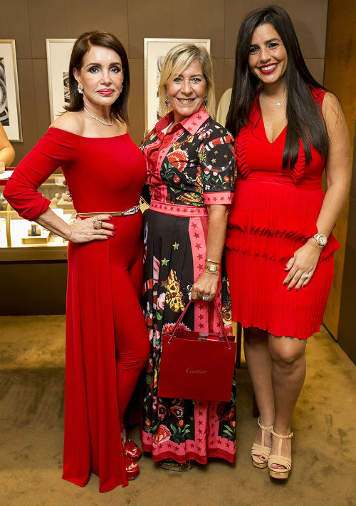 Marlene Santoni, Graciela Quintana y Adriana Kury. (Xavier García)