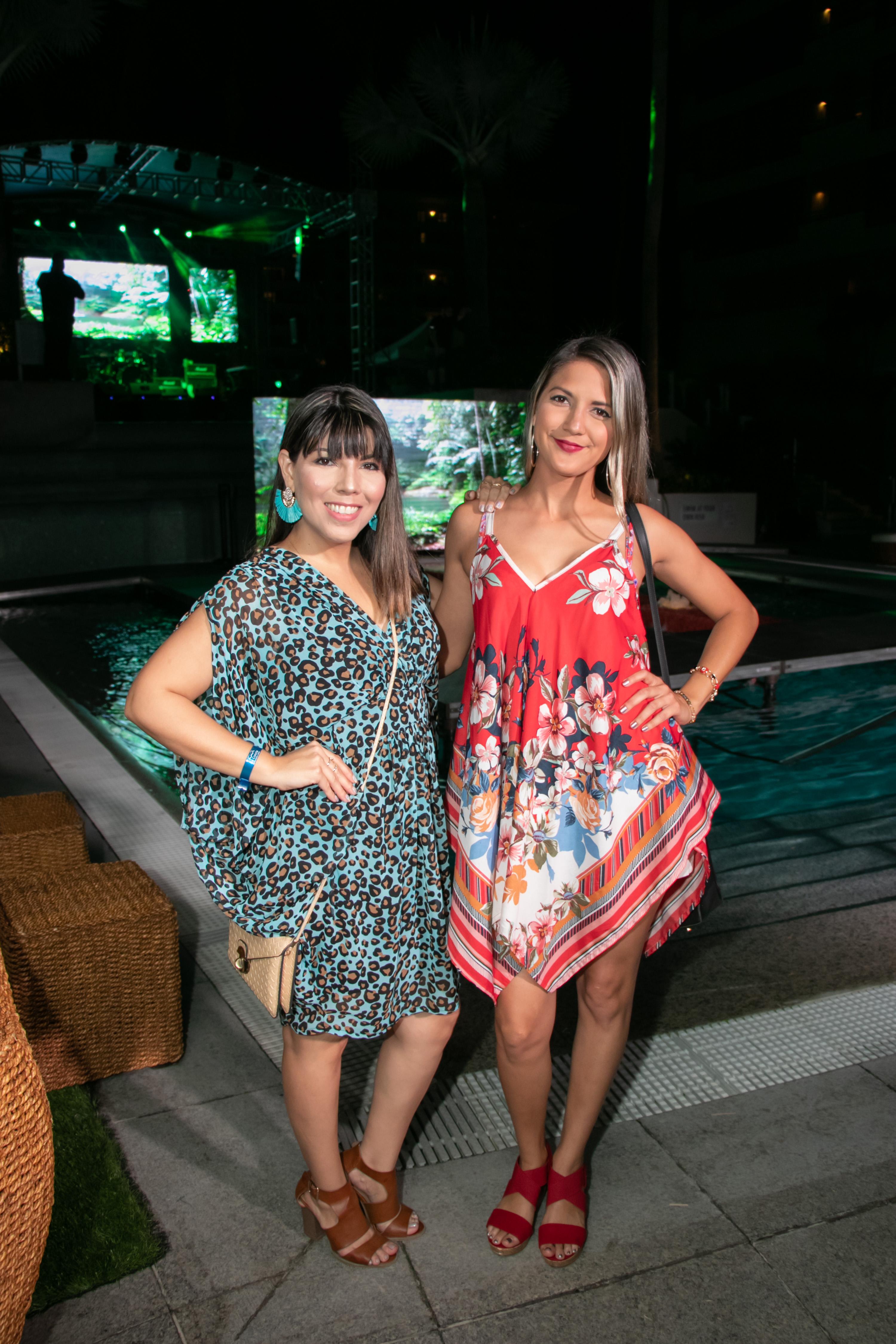 Elaine Hernández y Fabiola Pérez. (Suministrada)