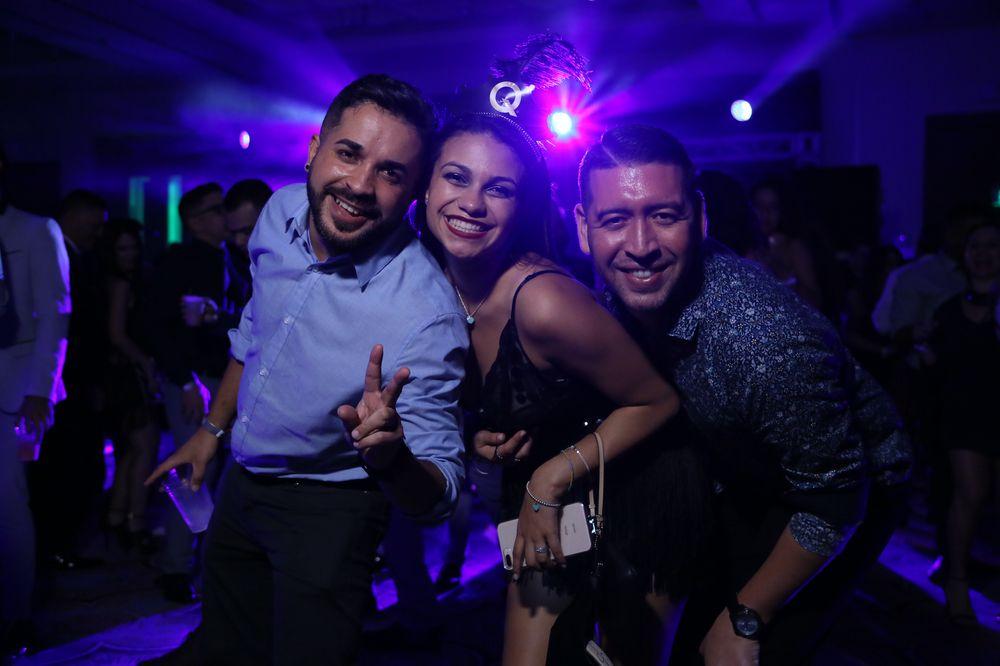 Emanuel Reyes, Viviana Ortiz y Luis Beltrán.