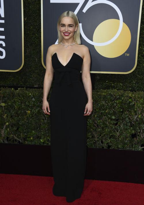 Emilia Clarke (Photo by Jordan Strauss/Invision/AP)