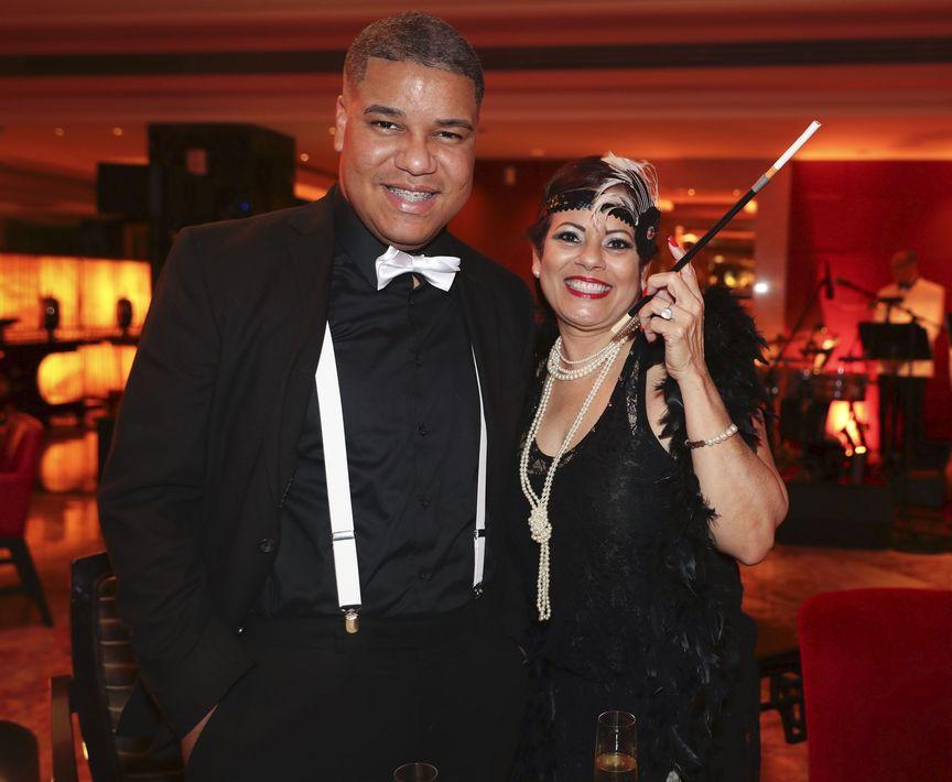 José Oquendo y Evelyn García. Foto suministrada
