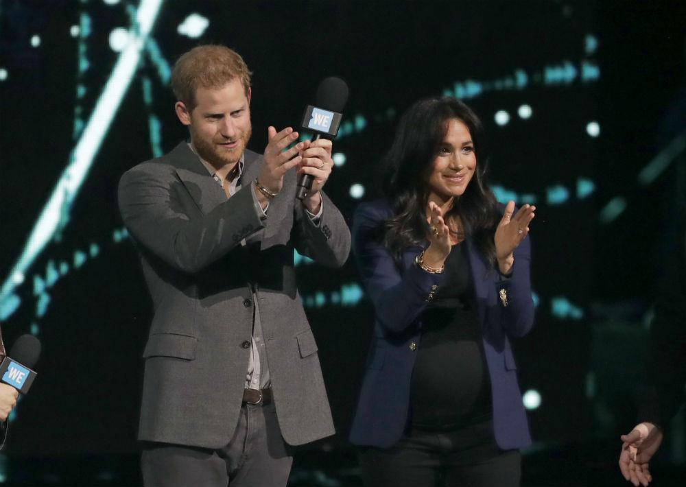 Es la segunda vez que el hijo menor de la princesa Diana y el príncipe Charles es orador principal en un evento del Día WE. (AP)